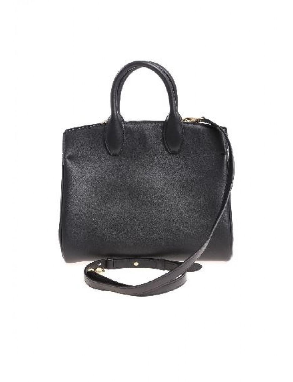 374aecb3dc2d Lyst - Ferragamo Shoulder Bag In Black in Black
