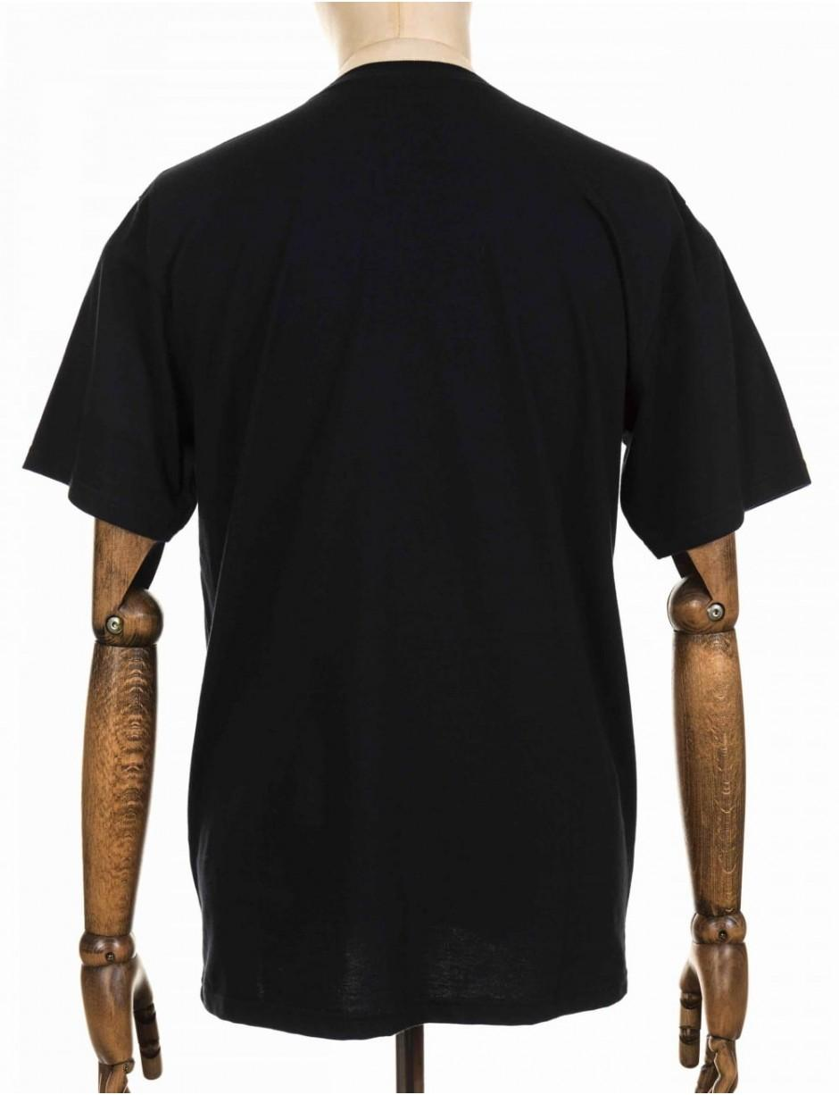 555e419539 Carhartt Wip S/s Chase Tee in Black for Men - Lyst