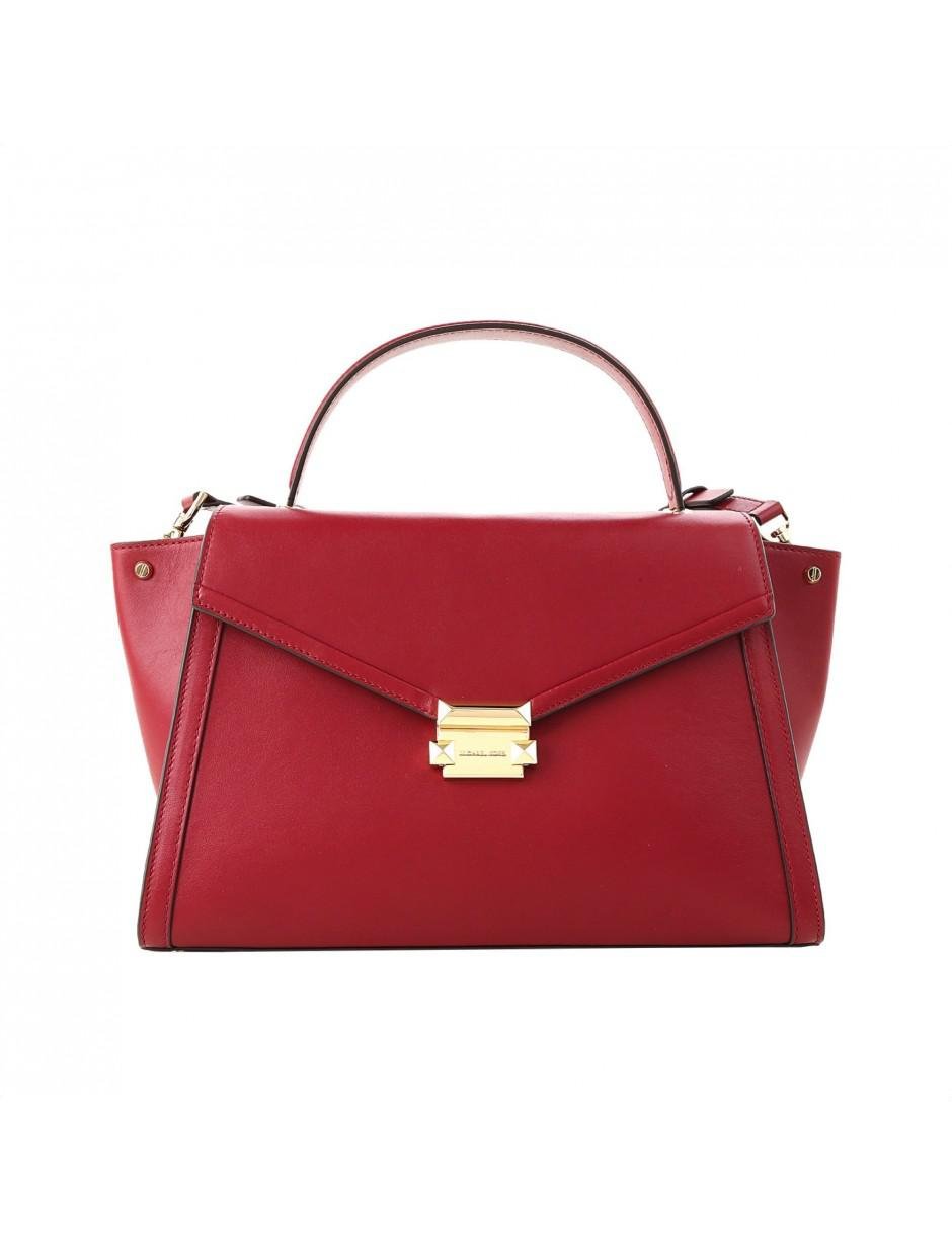 c6fc1ed11d44 Lyst - MICHAEL Michael Kors Shoulder Bag In Red in Red