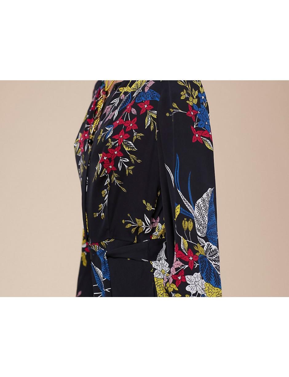 a8c6b0c3c0c Lyst - Diane von Furstenberg Dvf Waist Tie Maxi Dress In Camden ...