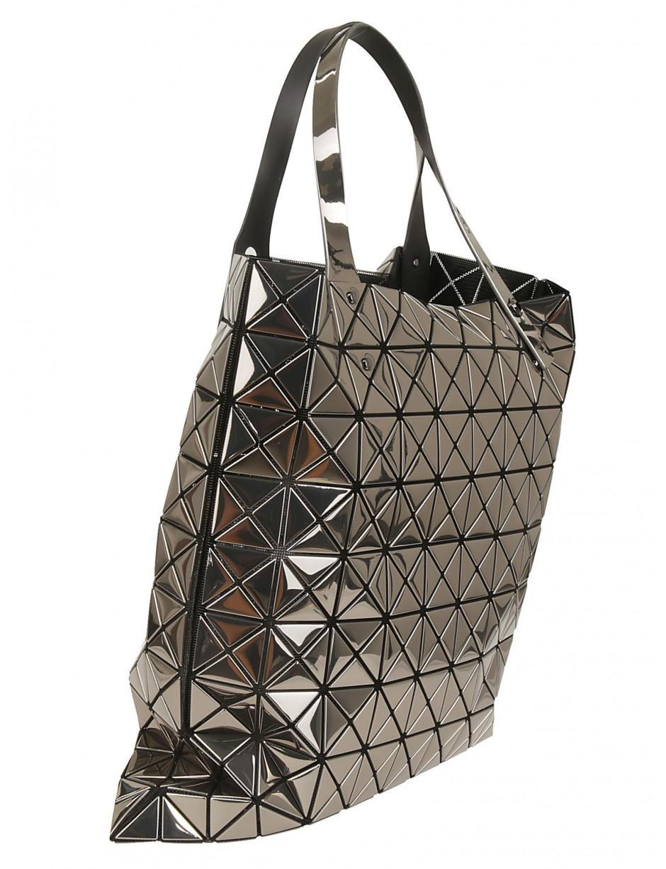 65bcdf267fdf Lyst - Bao Bao Issey Miyake Tote Bag In Silver in Metallic