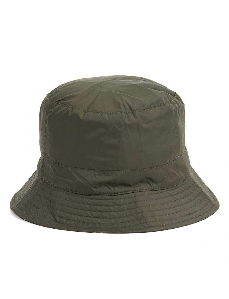 1bb02fcfd6a Barbour Men s Waterproof Reversible Bucket Hat in Green for Men - Lyst