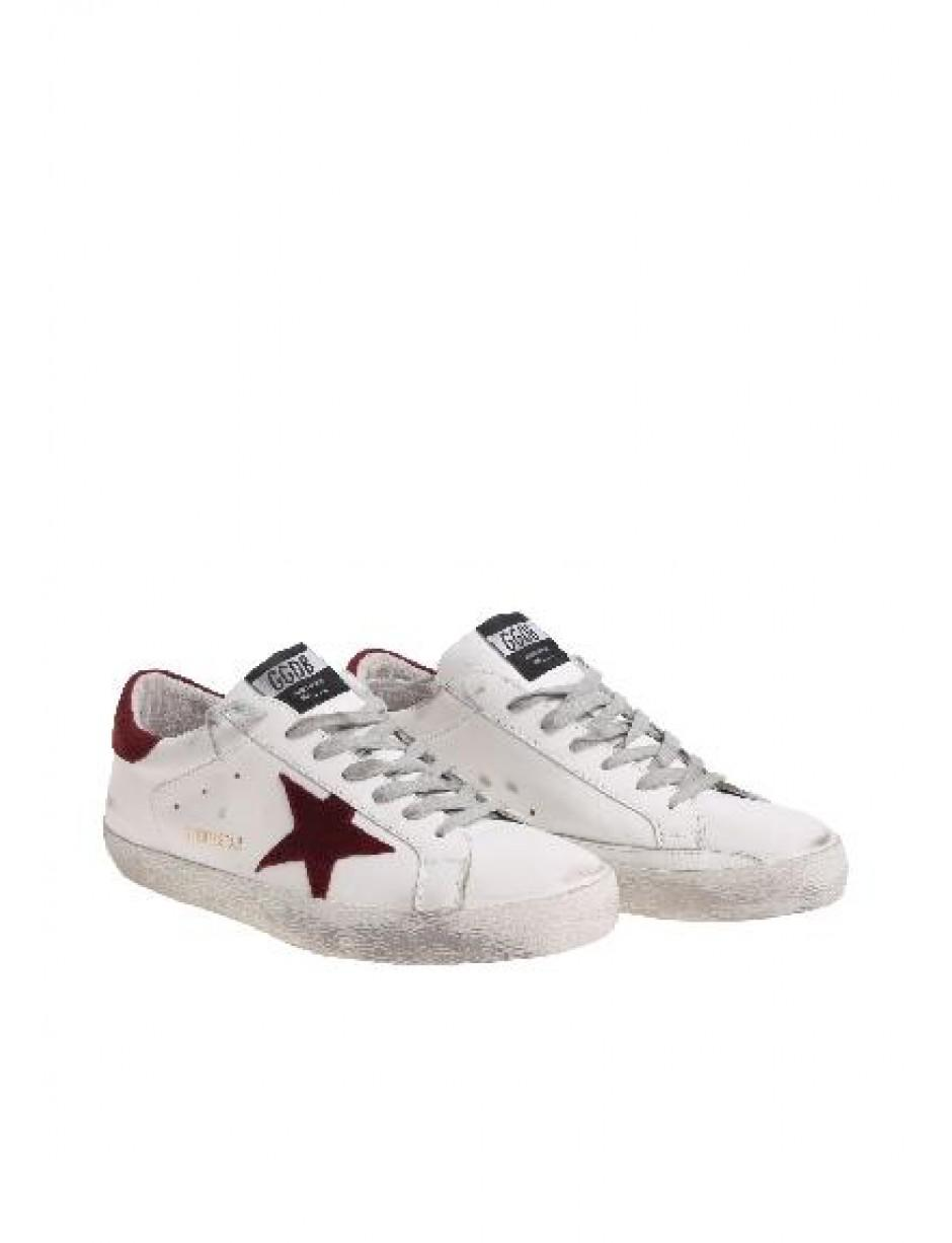 2d3f856f39db7 Golden Goose Deluxe Brand Trainers In White in White for Men - Lyst