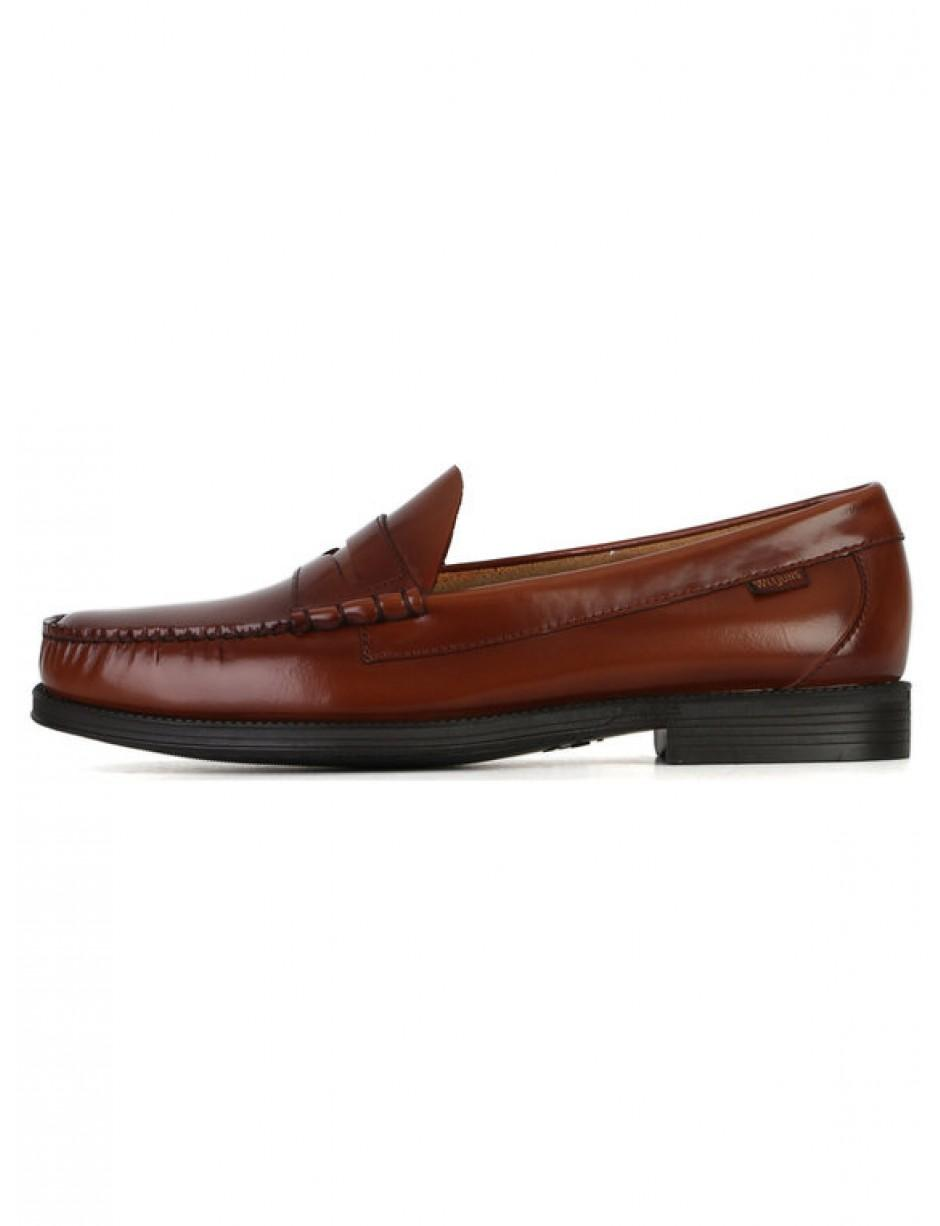 1ba2b543860 G.H.BASS G.h. Bass   Co. Larson Moc Penny Loafer Brown in Brown for ...