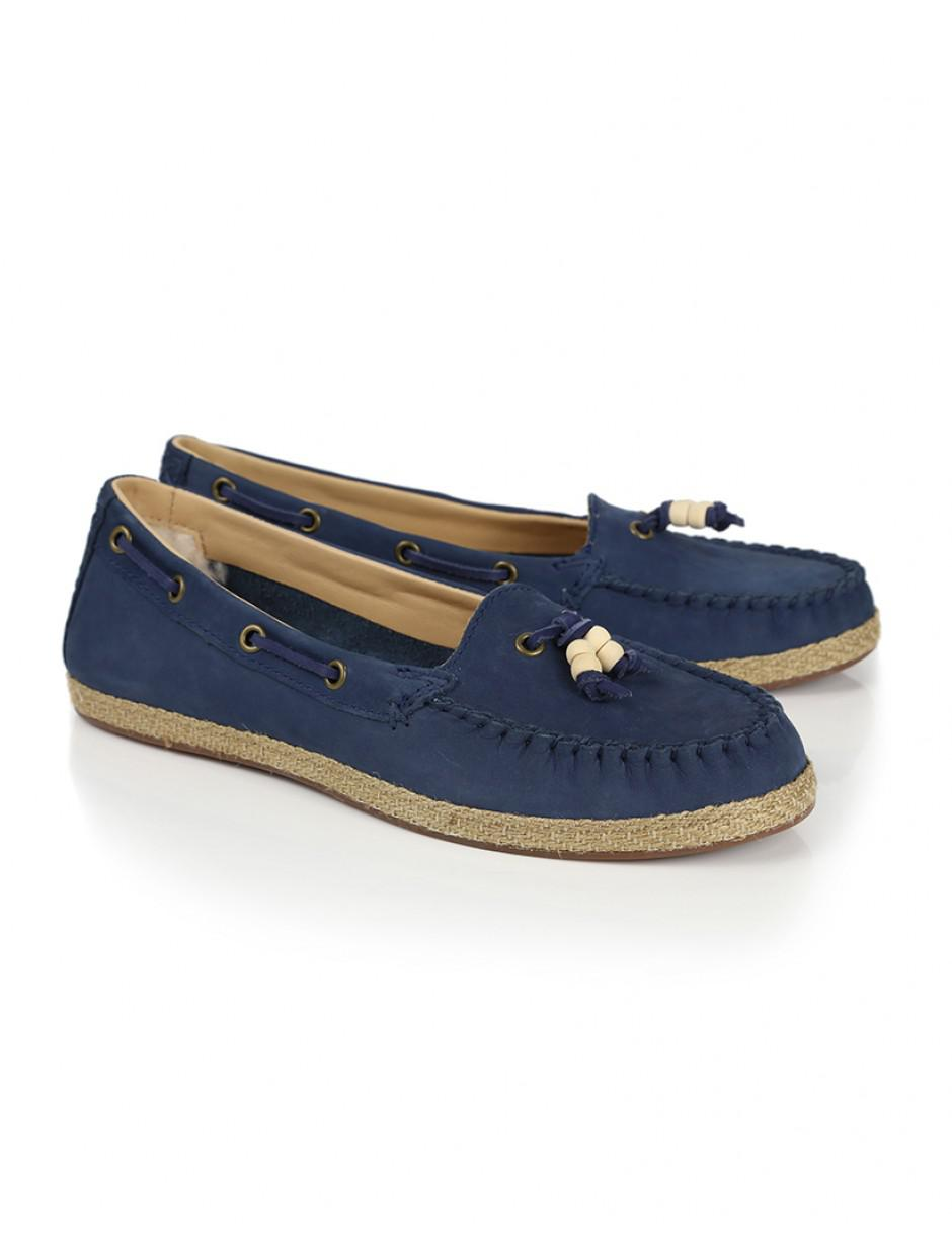 d273cff7d4b Lyst - UGG Women's Suzette Boat Shoes in Blue