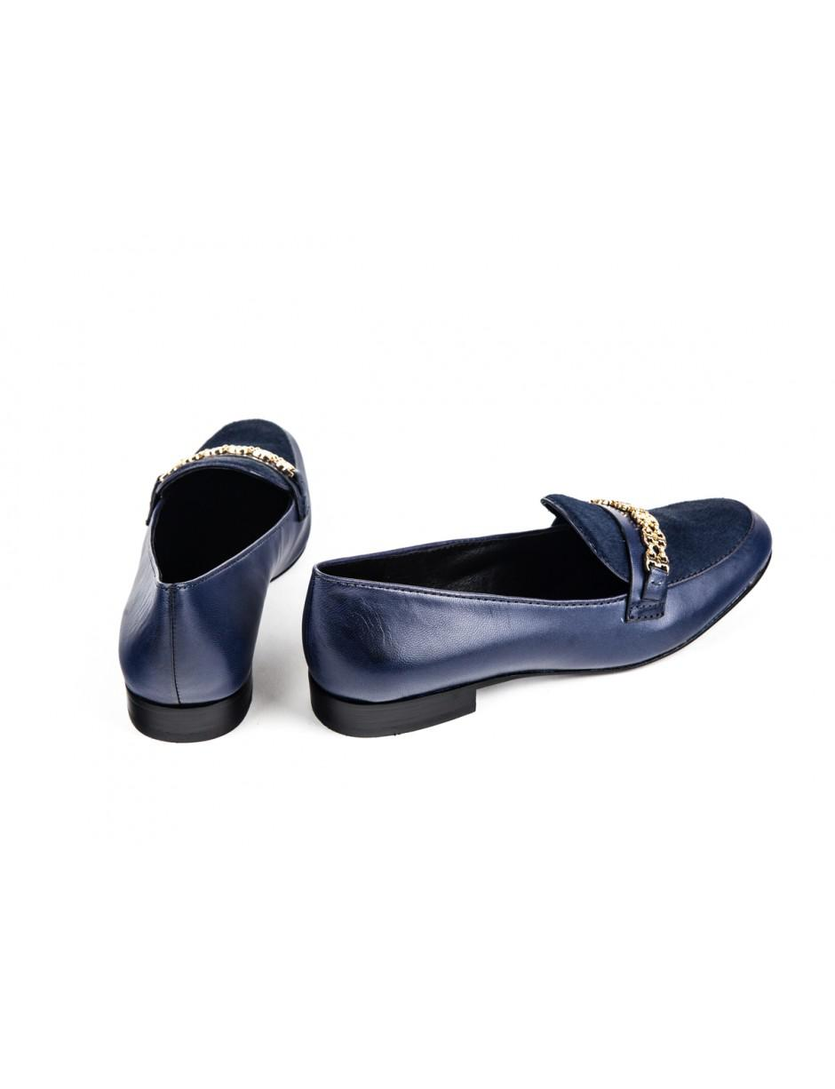 c33a94333e68 Tory Burch Gemini Link Loafer Royal Navy in Blue - Lyst
