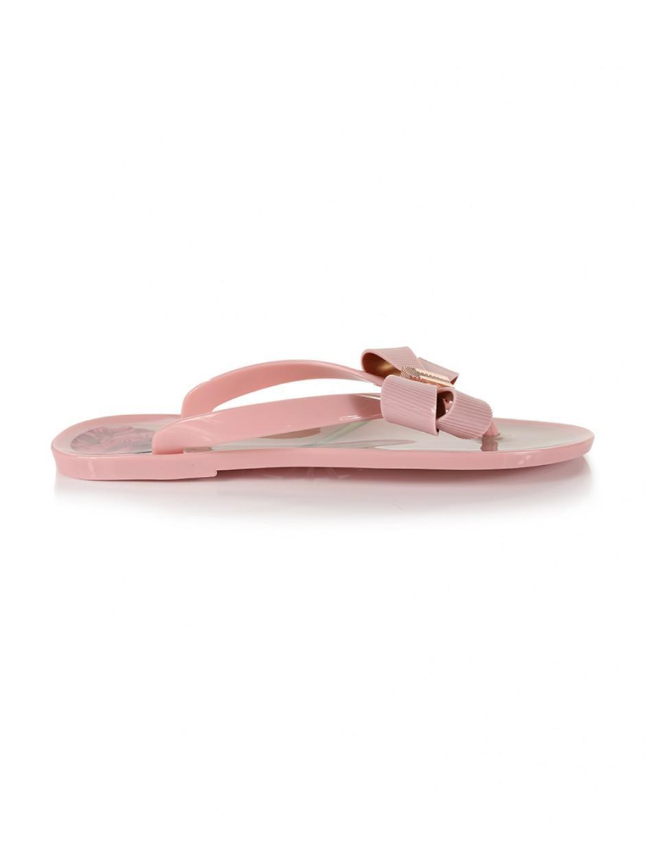 a3c933da5 Ted Baker Women s Susziep Flip Flops in Pink - Lyst