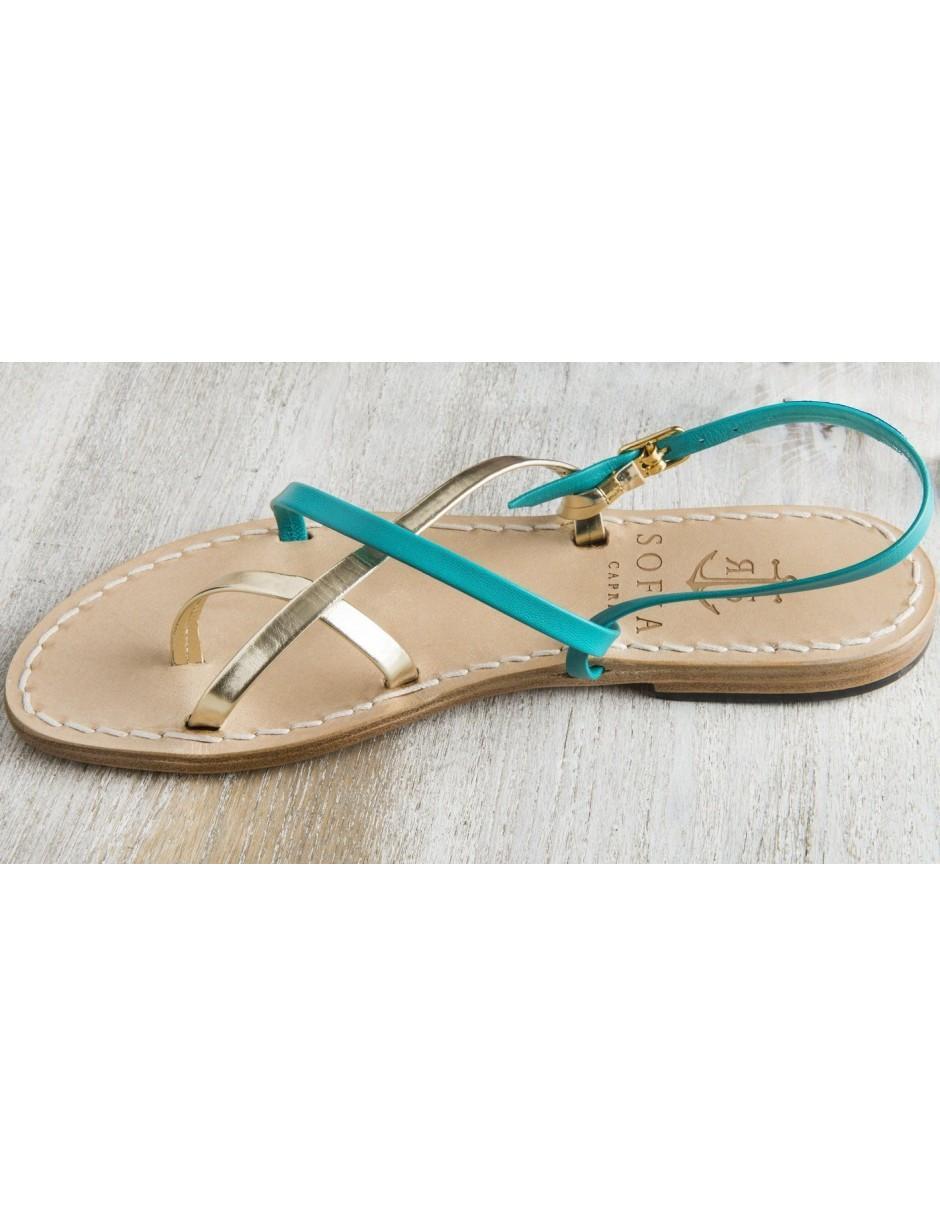 34bfb82d726c Lyst - Sofia Capri Via Rio Caprile Sandals in Blue