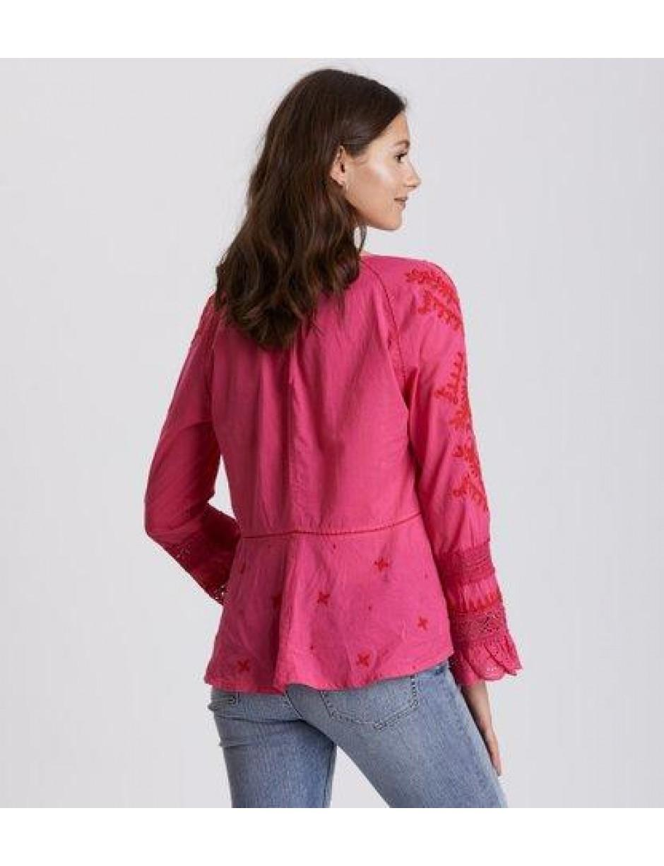 07442e8472393 Lyst - Odd Molly Swag Star Blouse in Pink