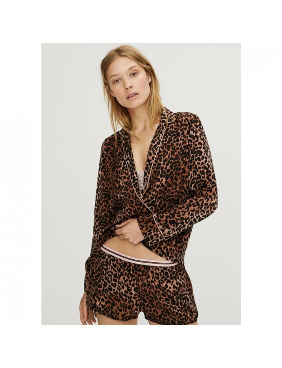c86f29d6 LoveStories - Brown Vigo Pyjama Shirt - Lyst. View fullscreen