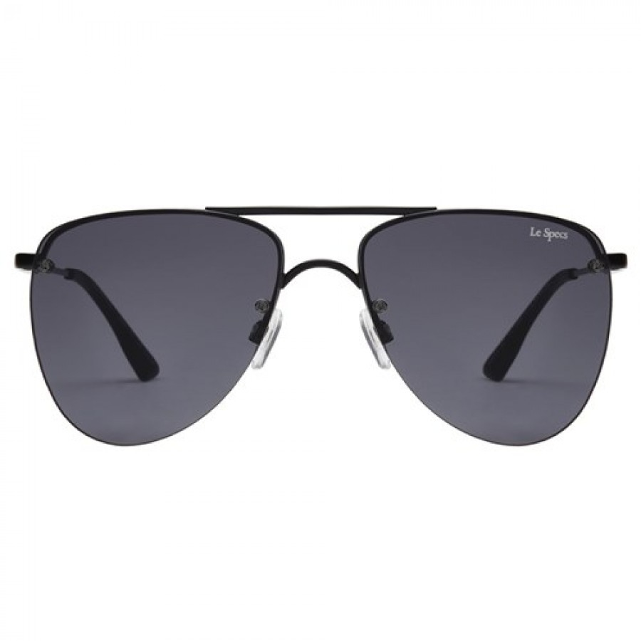 le specs the prince sunglasses in gray lyst. Black Bedroom Furniture Sets. Home Design Ideas