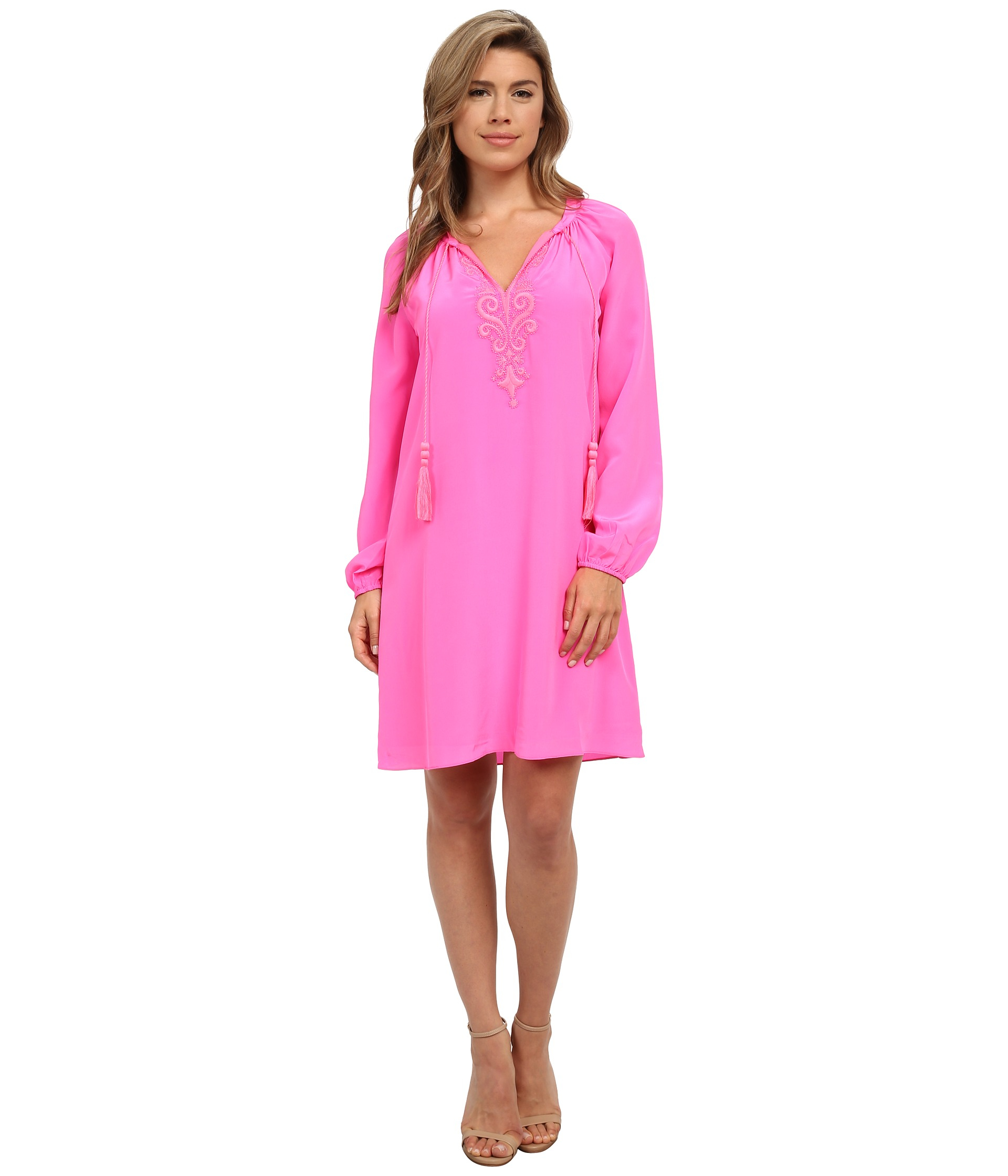 0f9e443db18 Lilly Pulitzer Roslyn Tunic Dress in Pink - Lyst
