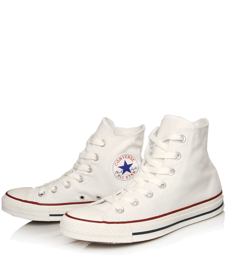 Converse CHUCK TAYLOR ALL STAR - High-top trainers - white cbzUTG3Q