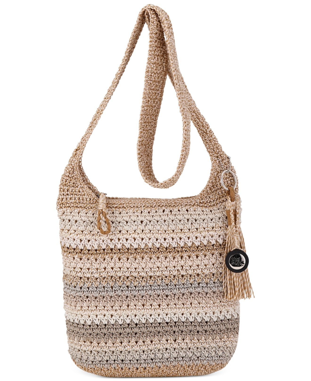 The Sak Bags Crochet : The sak Casual Classics Crochet Crossbody in Natural Lyst