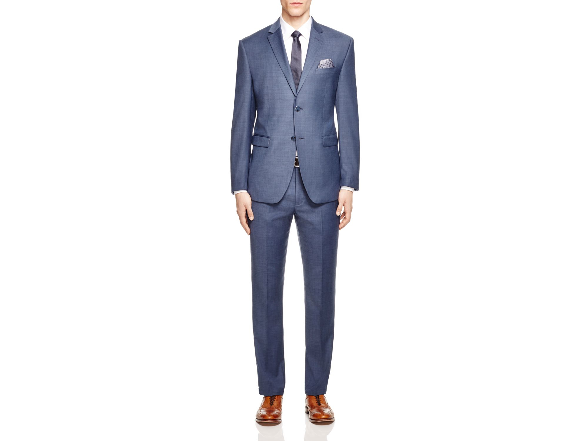Original penguin Slim Fit Dress Pants - Compare At $150 in Blue ...