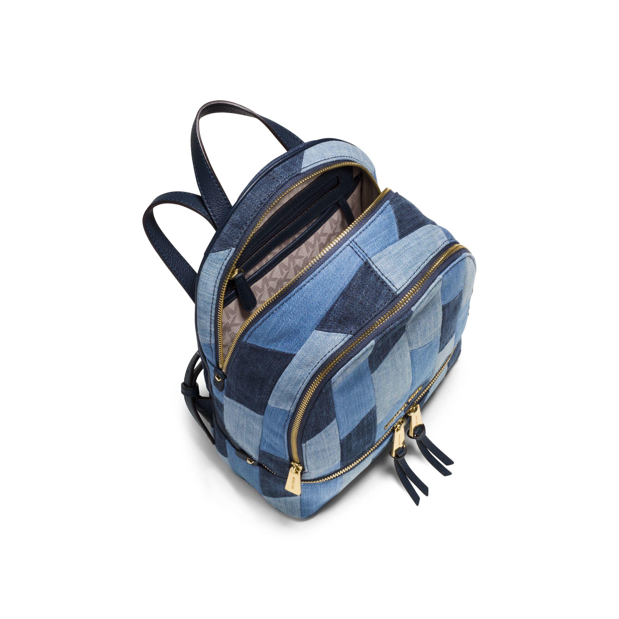 sale mk denim backpack b589b a992f rh seansinjin com