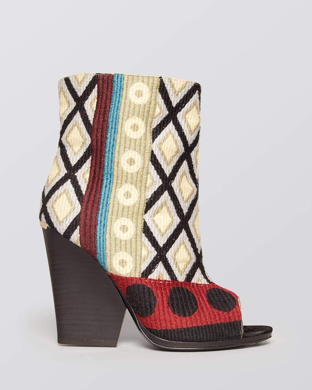 burberry high heel booties bateson in lyst