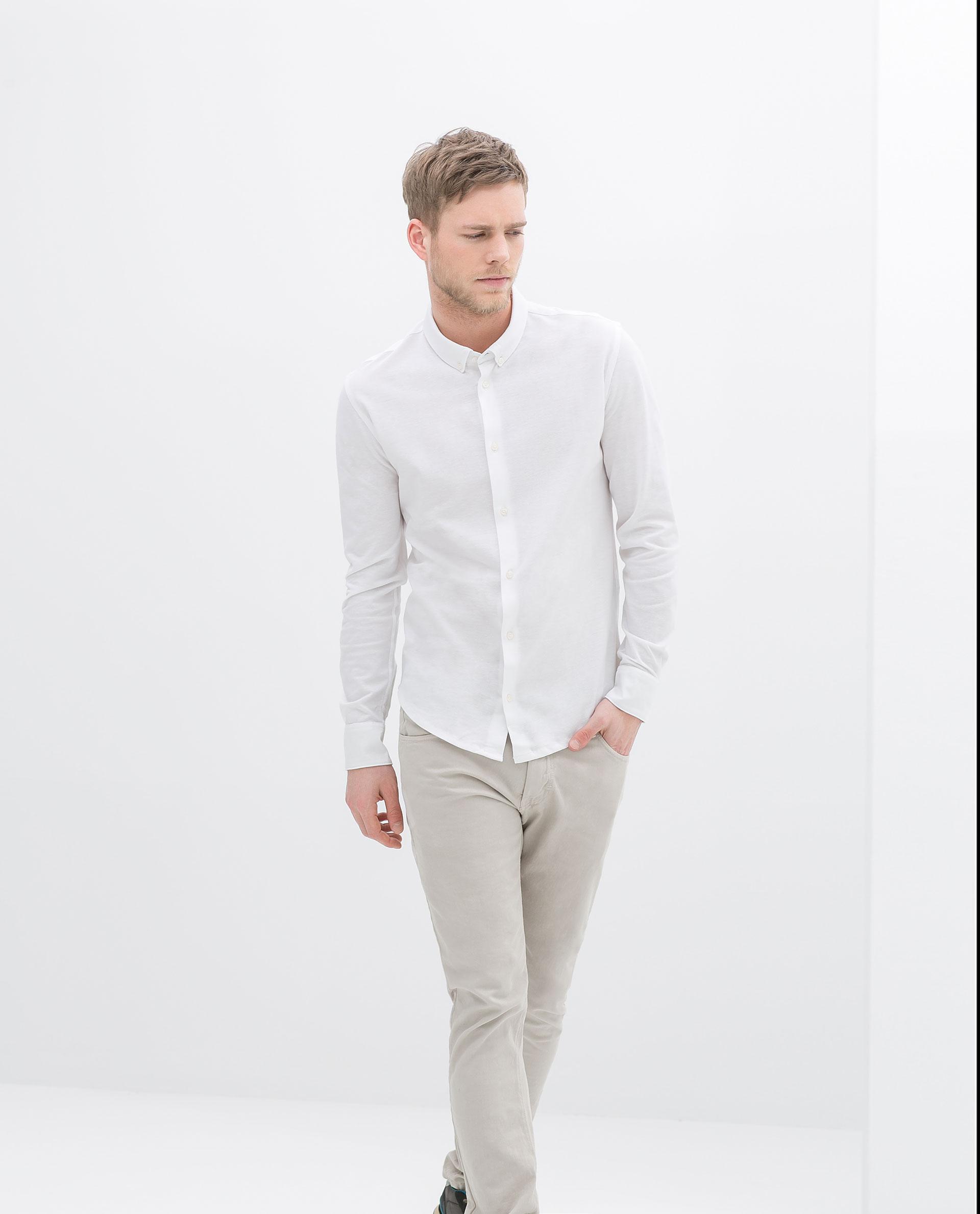 Moncler sale mens shirts zara for Zara mens shirts sale