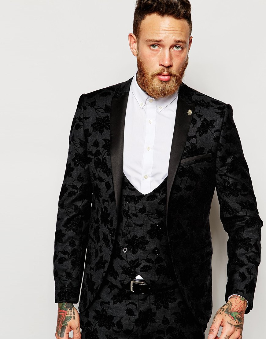 Lyst Noose And Monkey Tuxedo Suit Jacket With Stretch