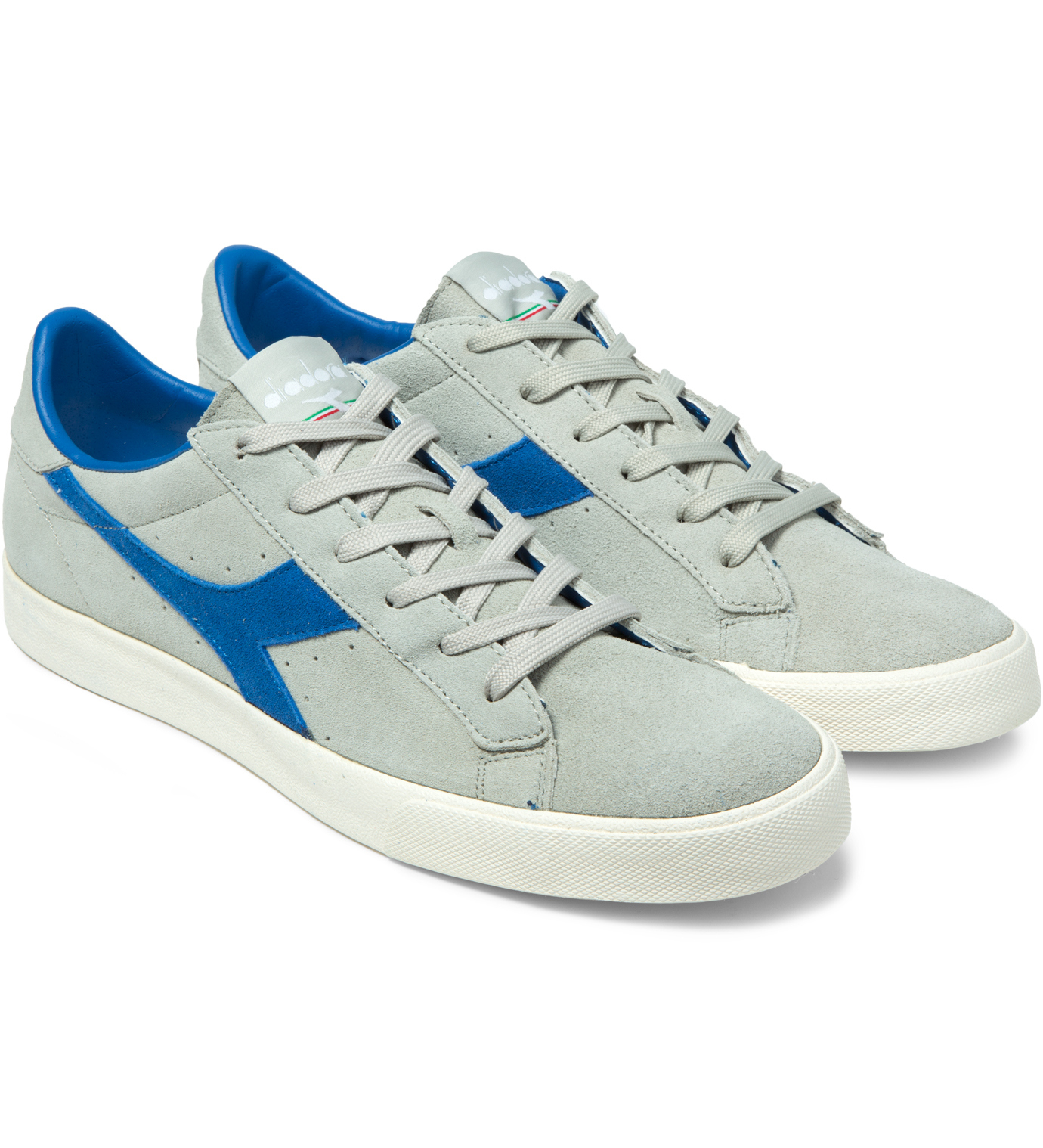 diadora putty blue bell tennis 270 low shoes in blue for