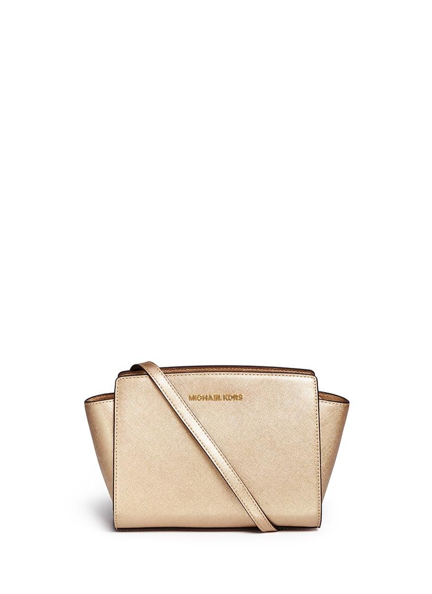 ... ireland michael kors selma medium saffiano leather messenger bag in  afc2e bd668 92e6a885e8b