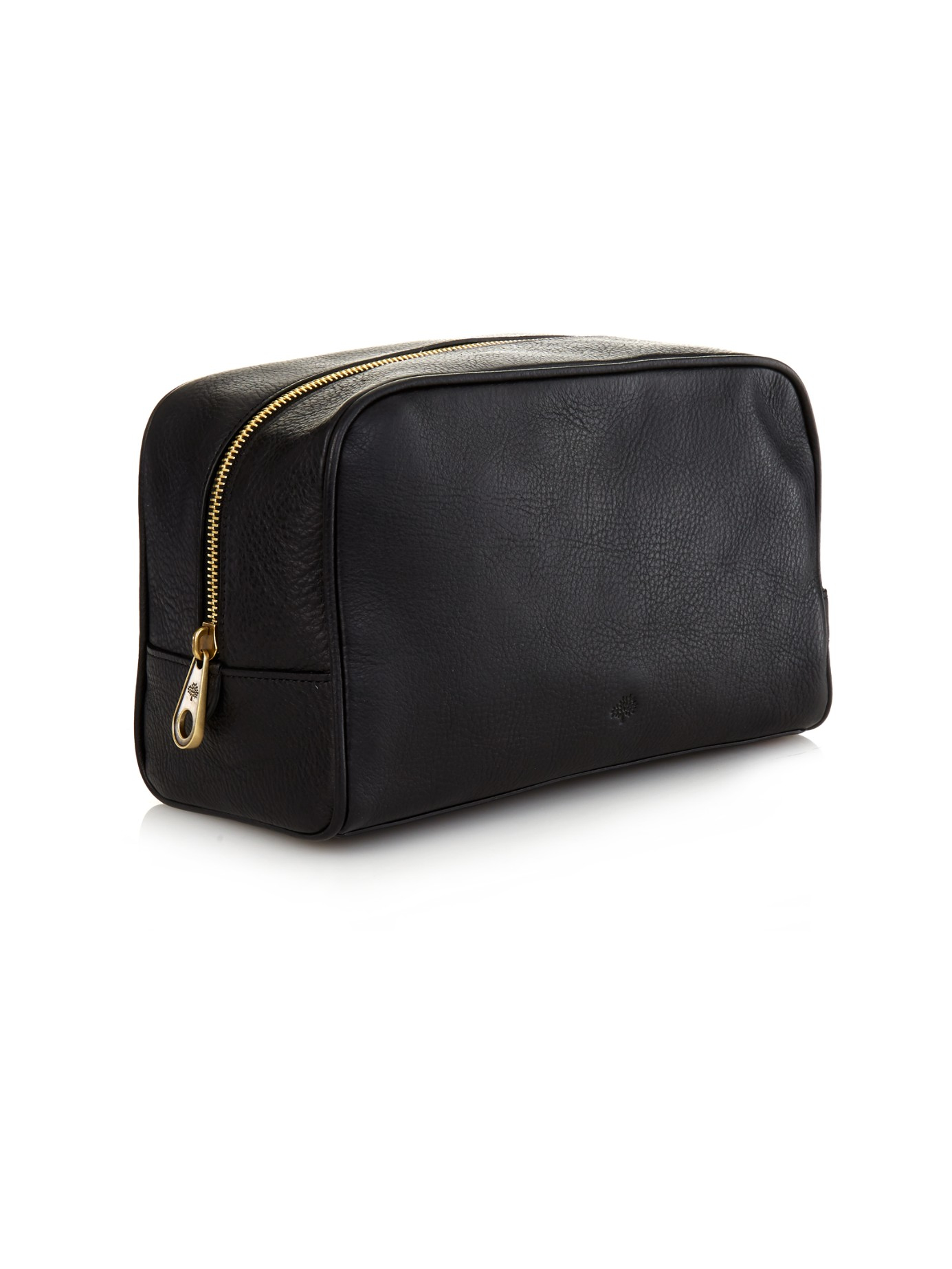 3822808bd5c ... discount code for lyst mulberry grained leather washbag in black for  men 728ce 784f6 greece mulberry medium clipper pebble ...