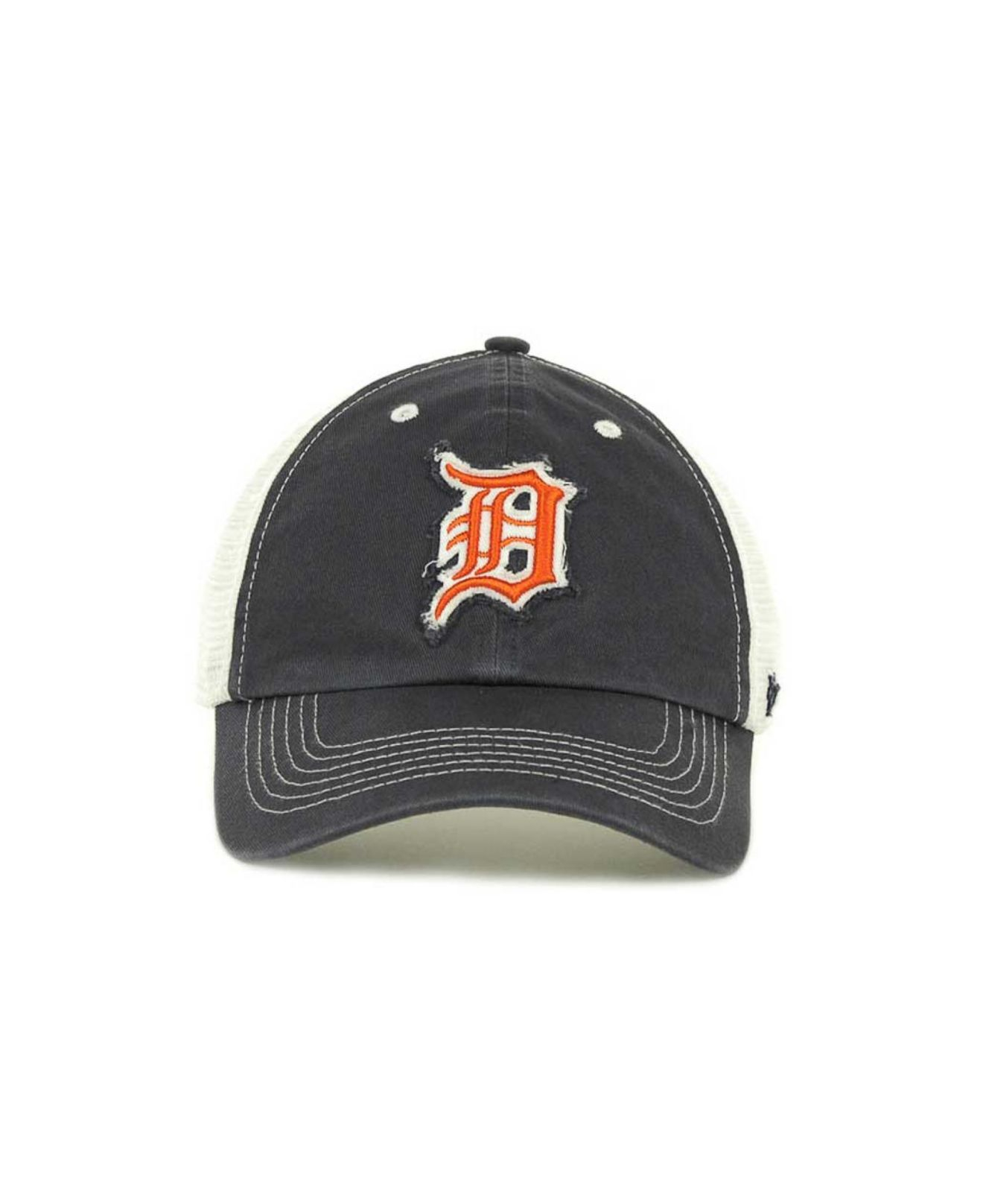 brand new a2ba8 80e6d ... australia lyst 47 brand detroit tigers mlb blue mountain franchise cap  in 77b79 dcc95
