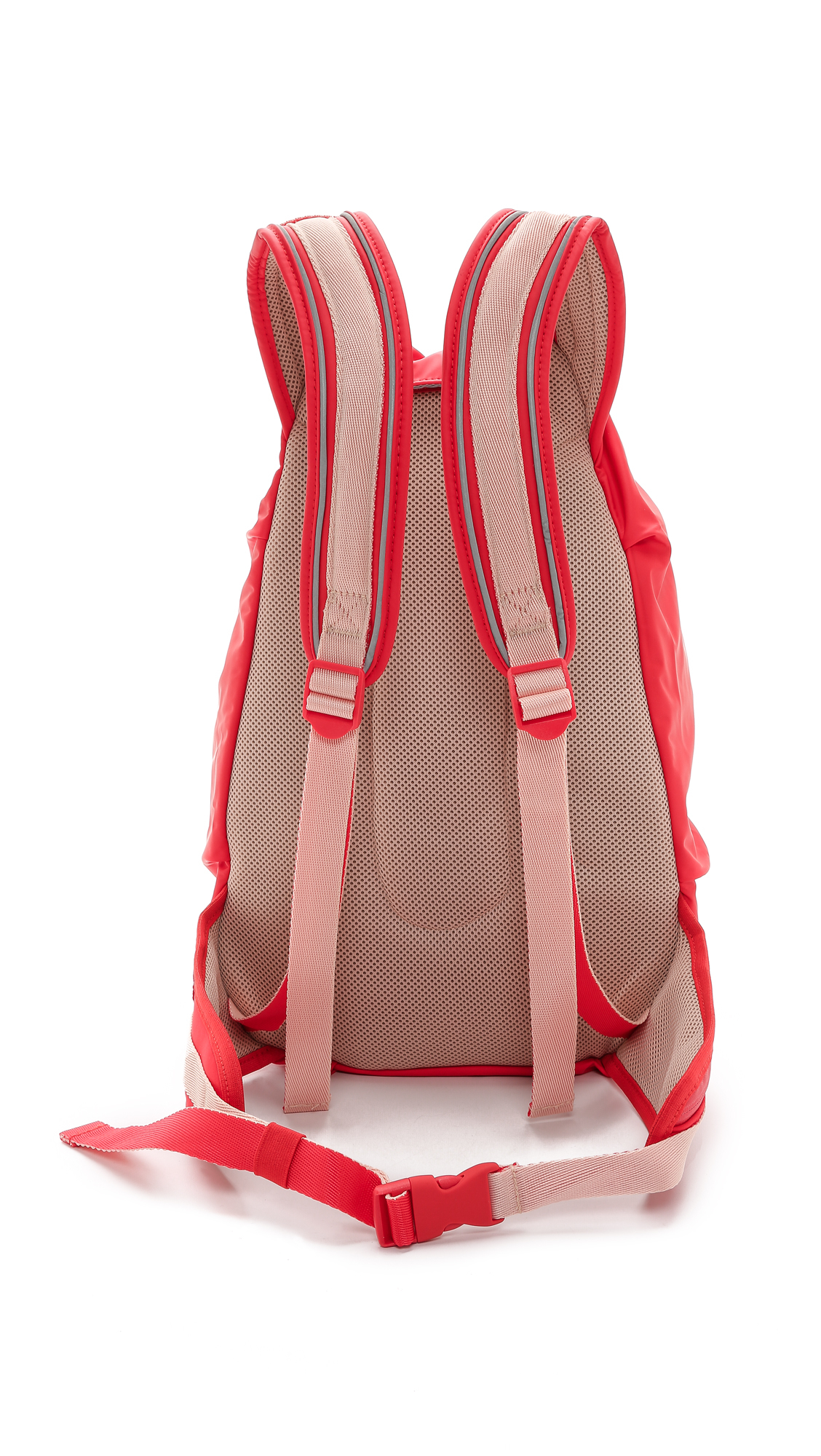 Lyst - adidas By Stella McCartney Running Cycling Backpack - Scarlet ... b66bd6b650