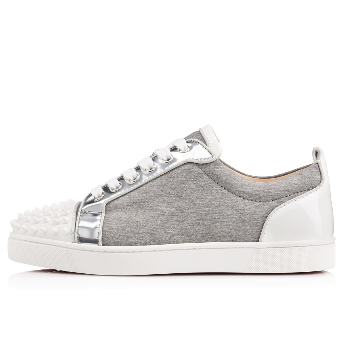 separation shoes 9bcd4 69abe christian louboutin louis junior spike sneakers, christian ...