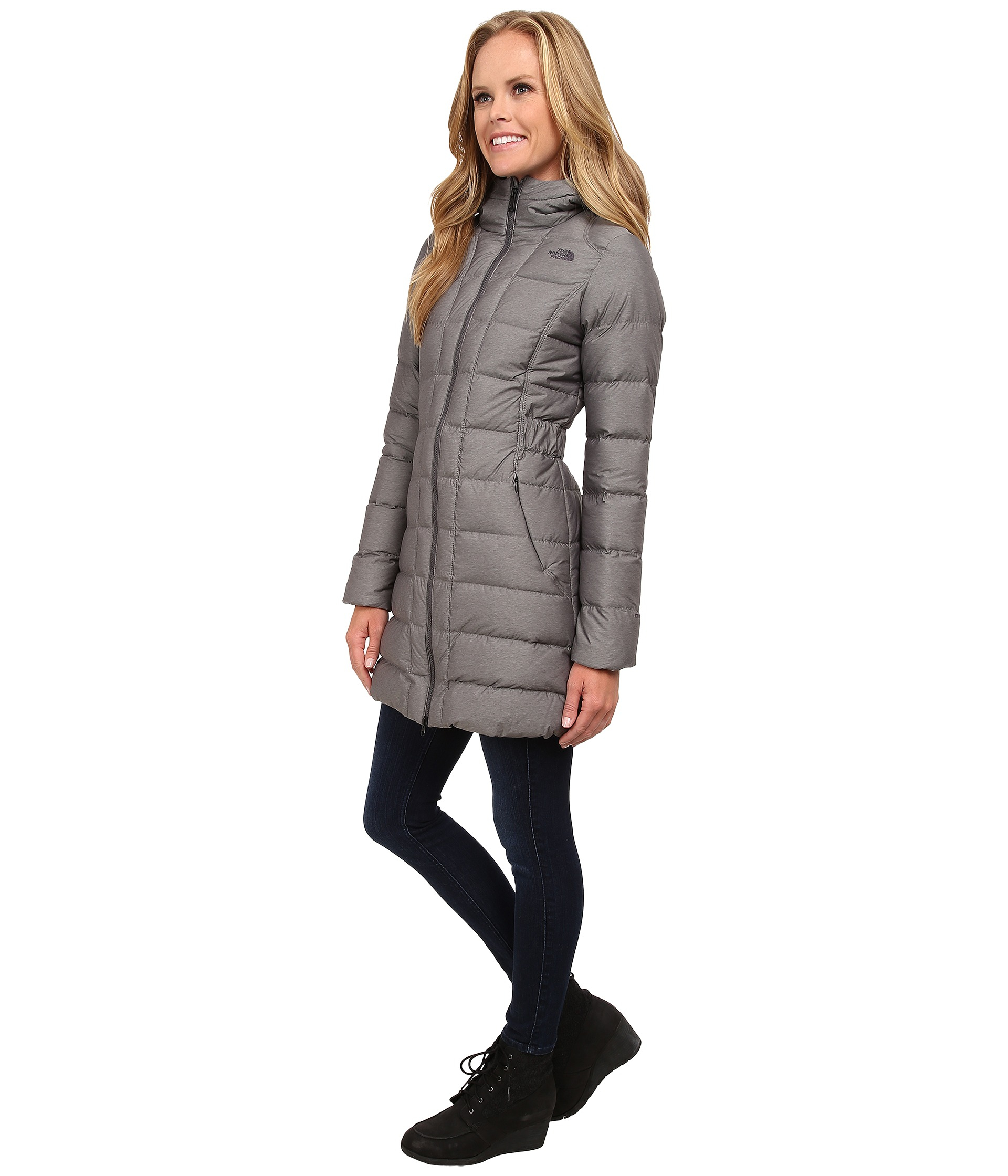 88e4ba226b Lyst - The North Face Gotham Parka in Gray