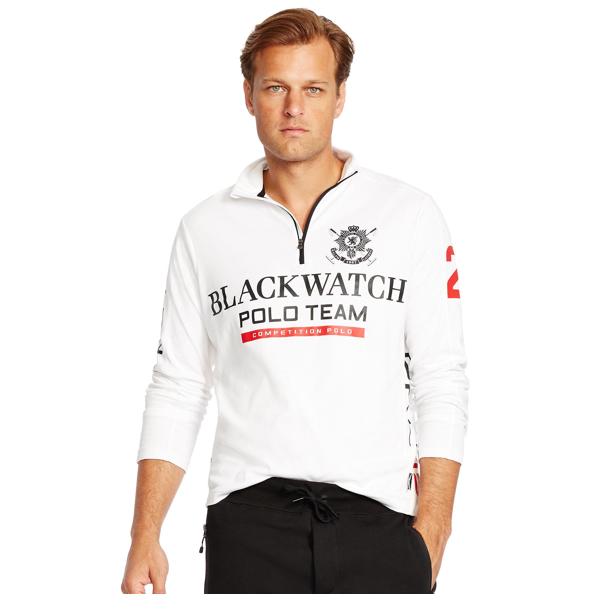 cb7bf972 Black Watch Polo Shirt Long Sleeve