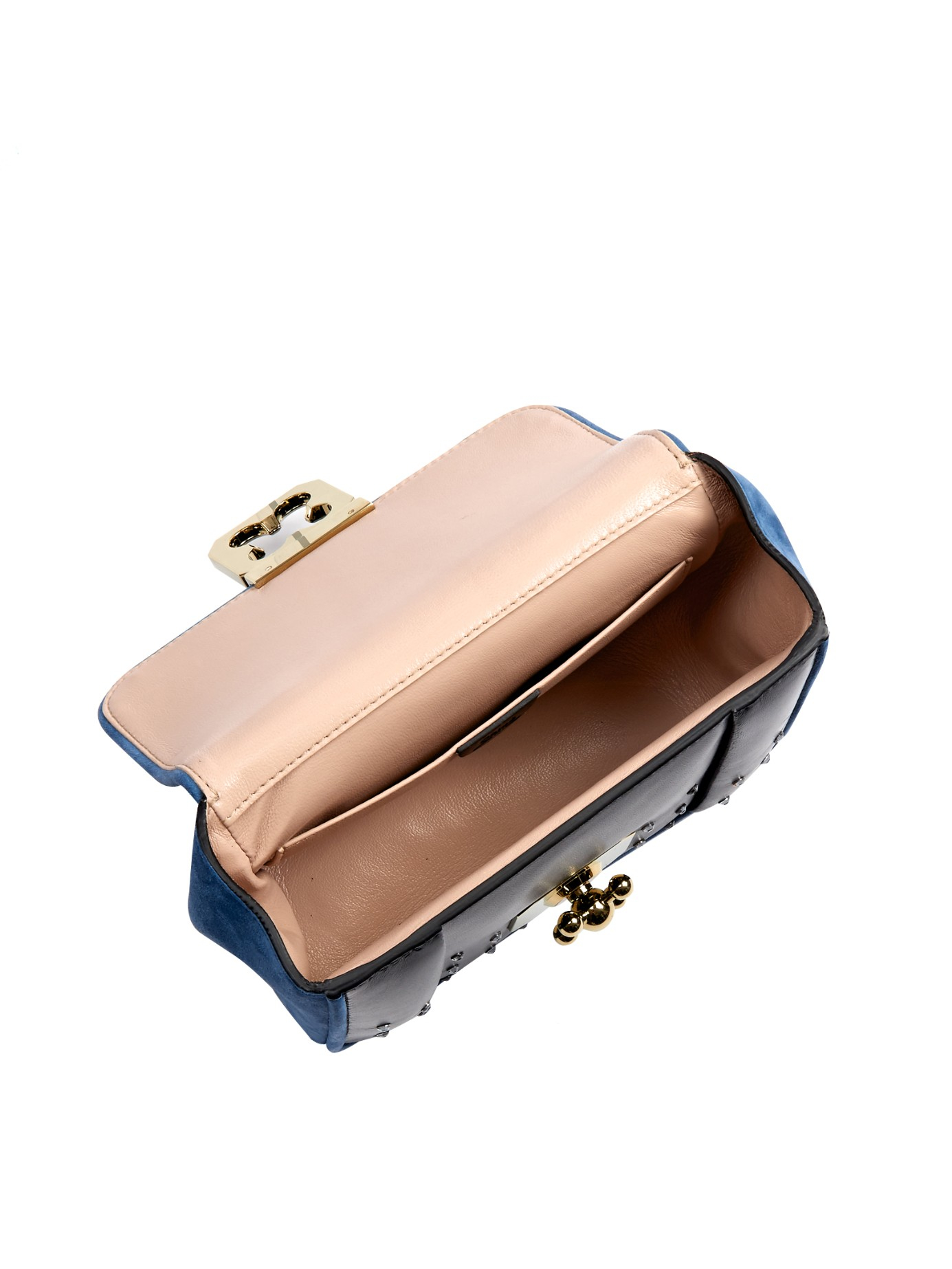 chloe metallic paddington pochette