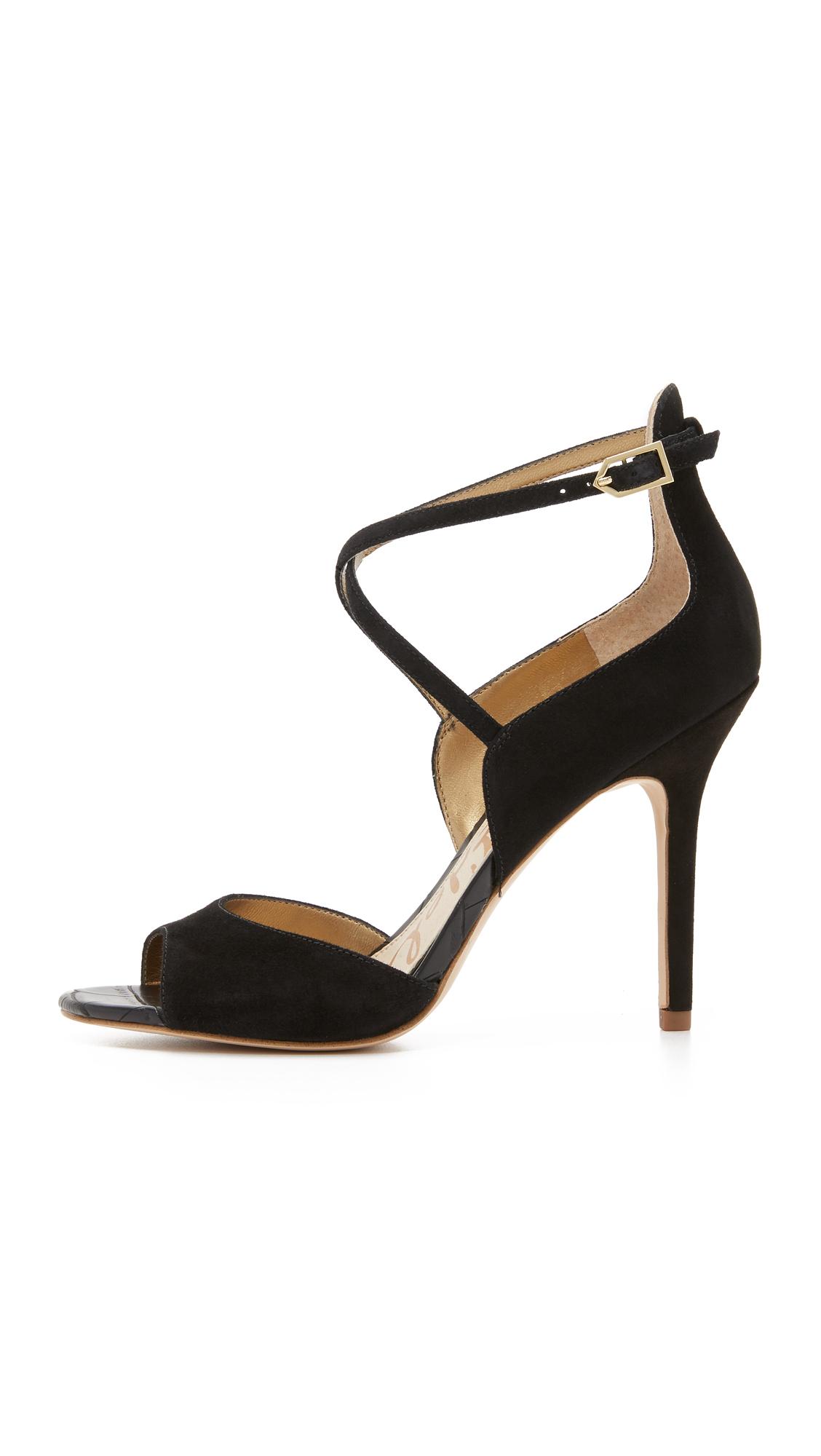 9c07bfb56a40 Lyst - Sam Edelman Audrey Sandals in Black