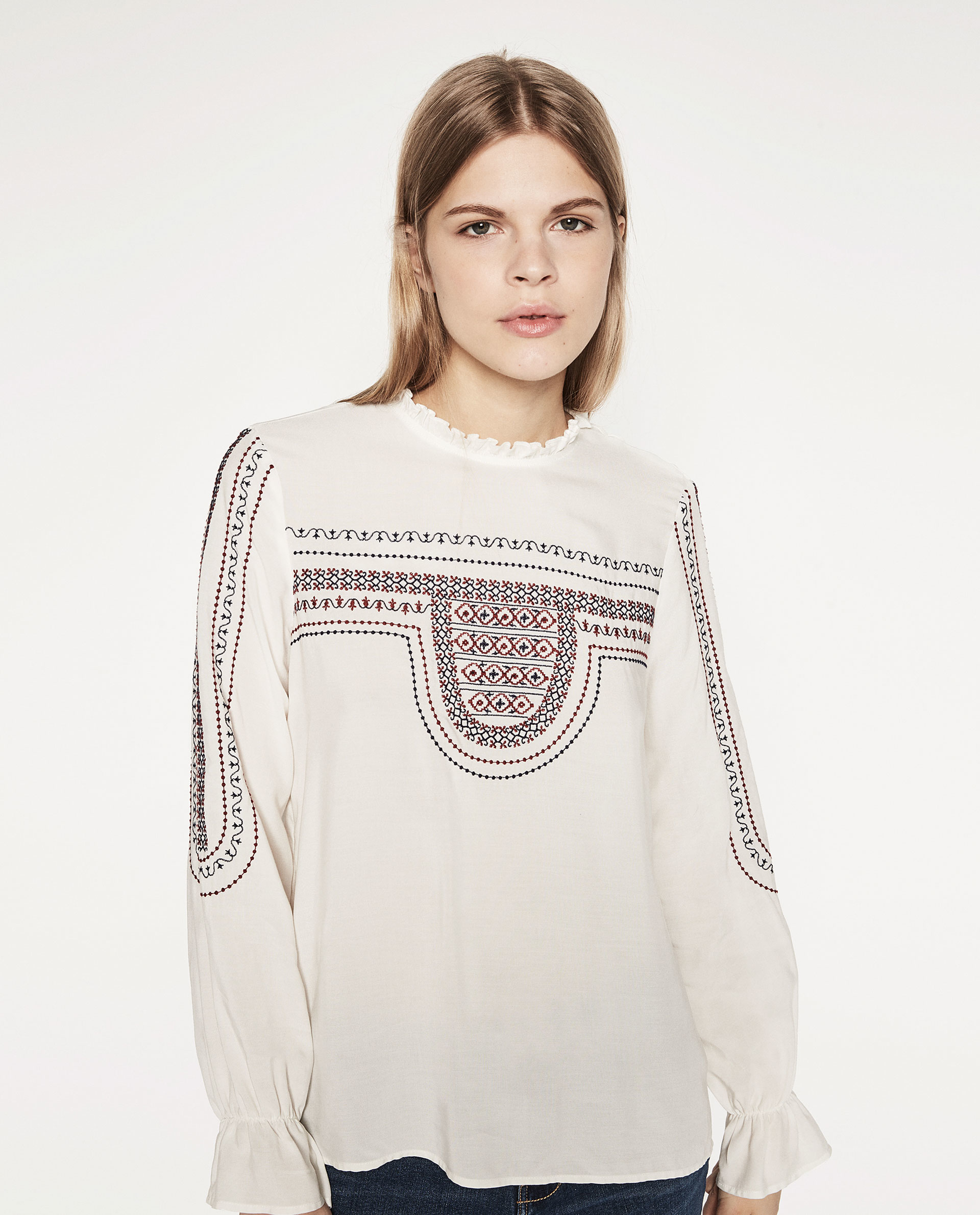 Zara Embroidered Blouse 75