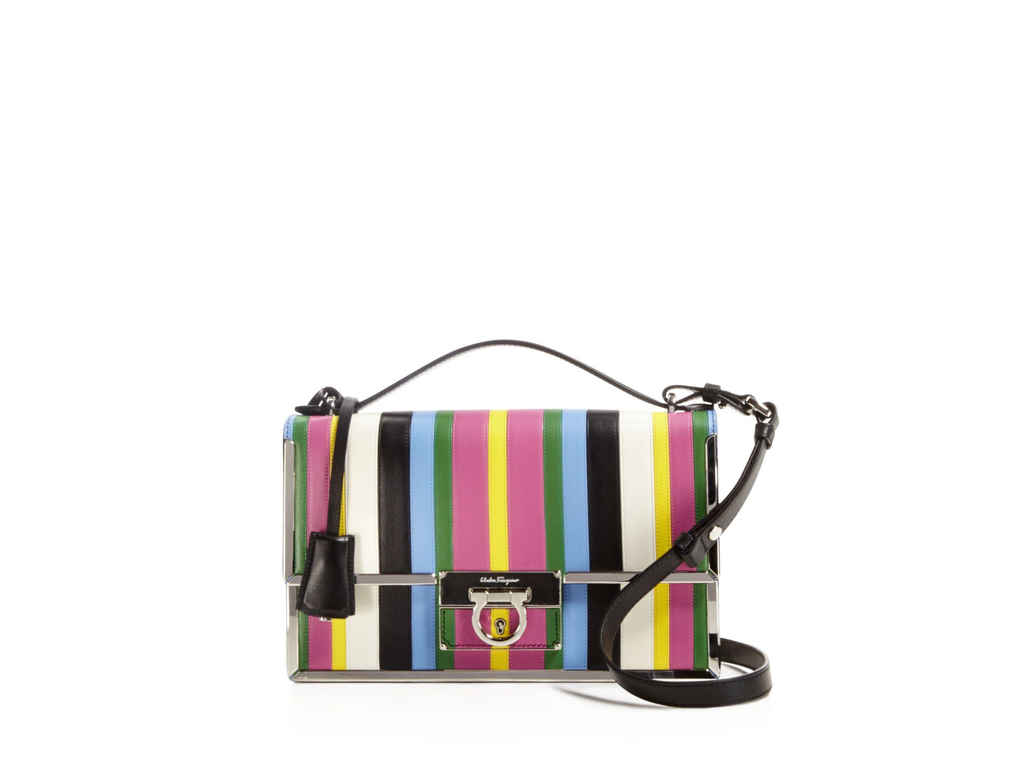 Lyst - Ferragamo Aileen Frame Rainbow Shoulder Bag ea11eab6b38d2