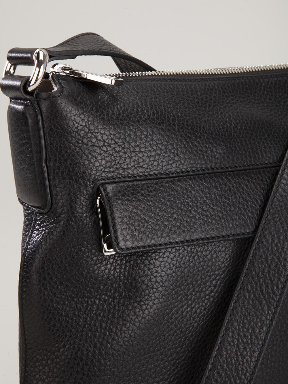 Lyst Gucci Small Square Shoulder Bag In Black For Men