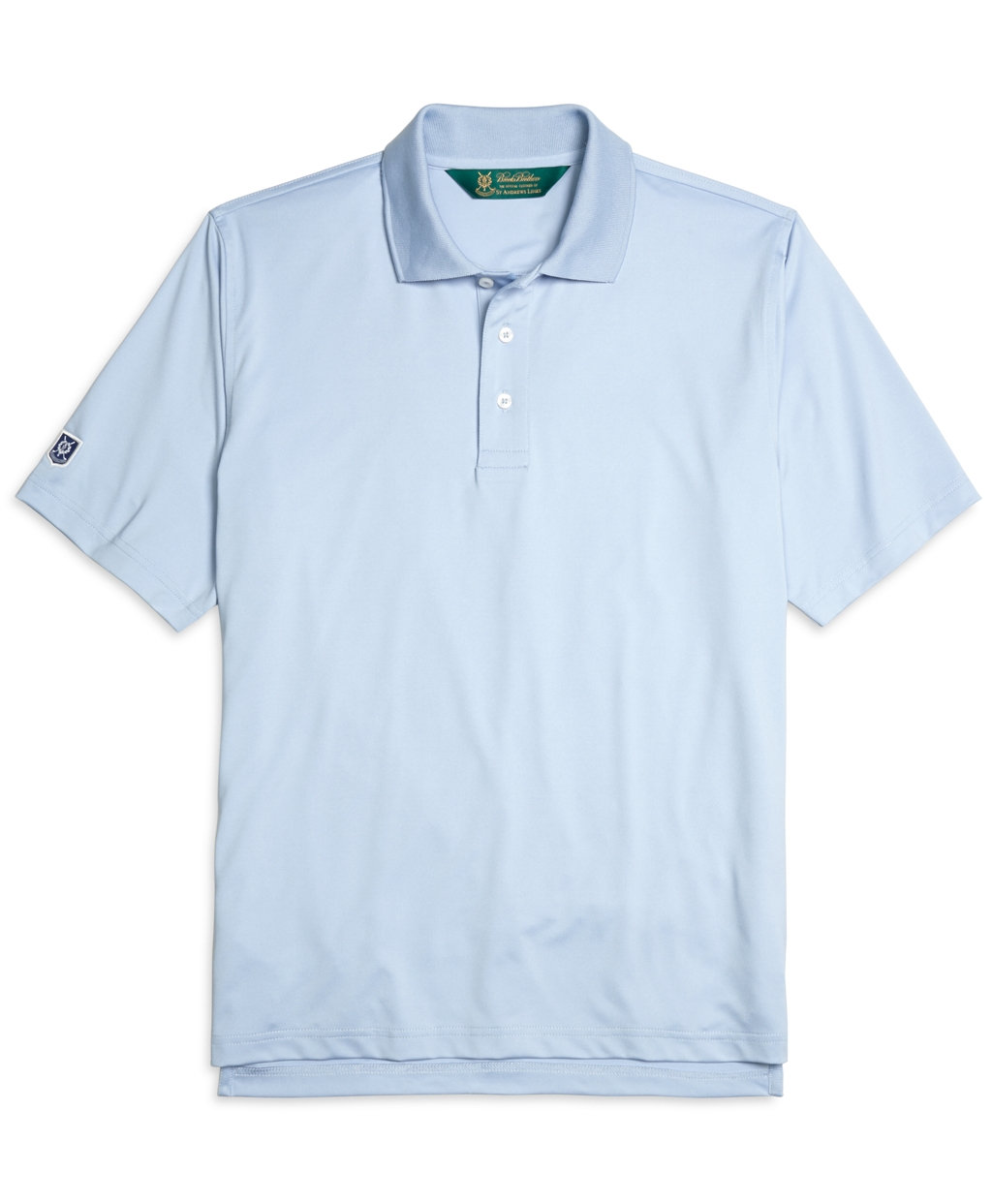Brooks brothers blue st andrews links polo shirt for men Brooks brothers shirt size guide
