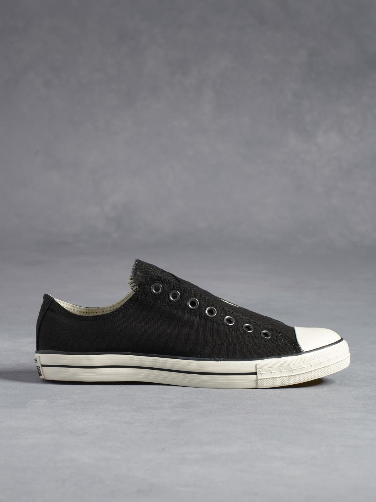 e97eabd971b Lyst - John Varvatos Chuck Taylor Low Top Laceless in Black for Men