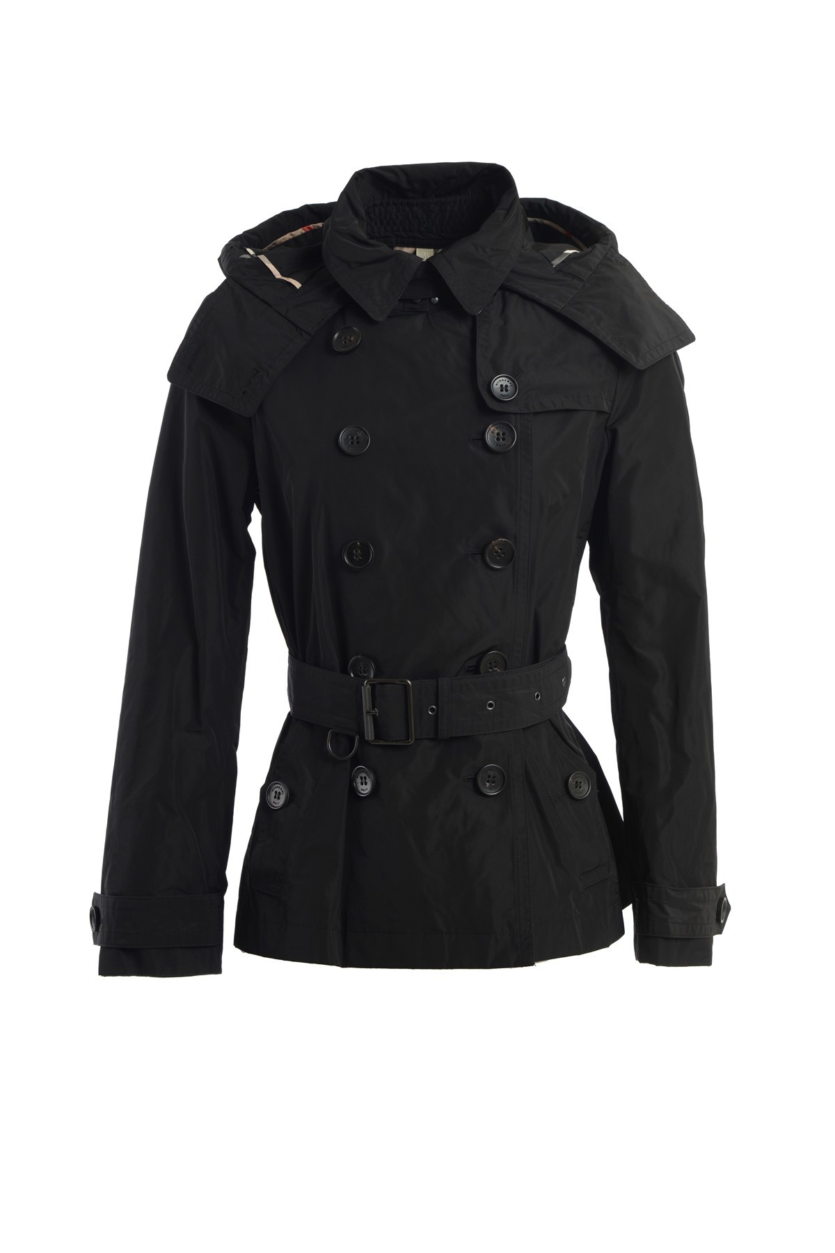 black trench coat with hood - photo #49