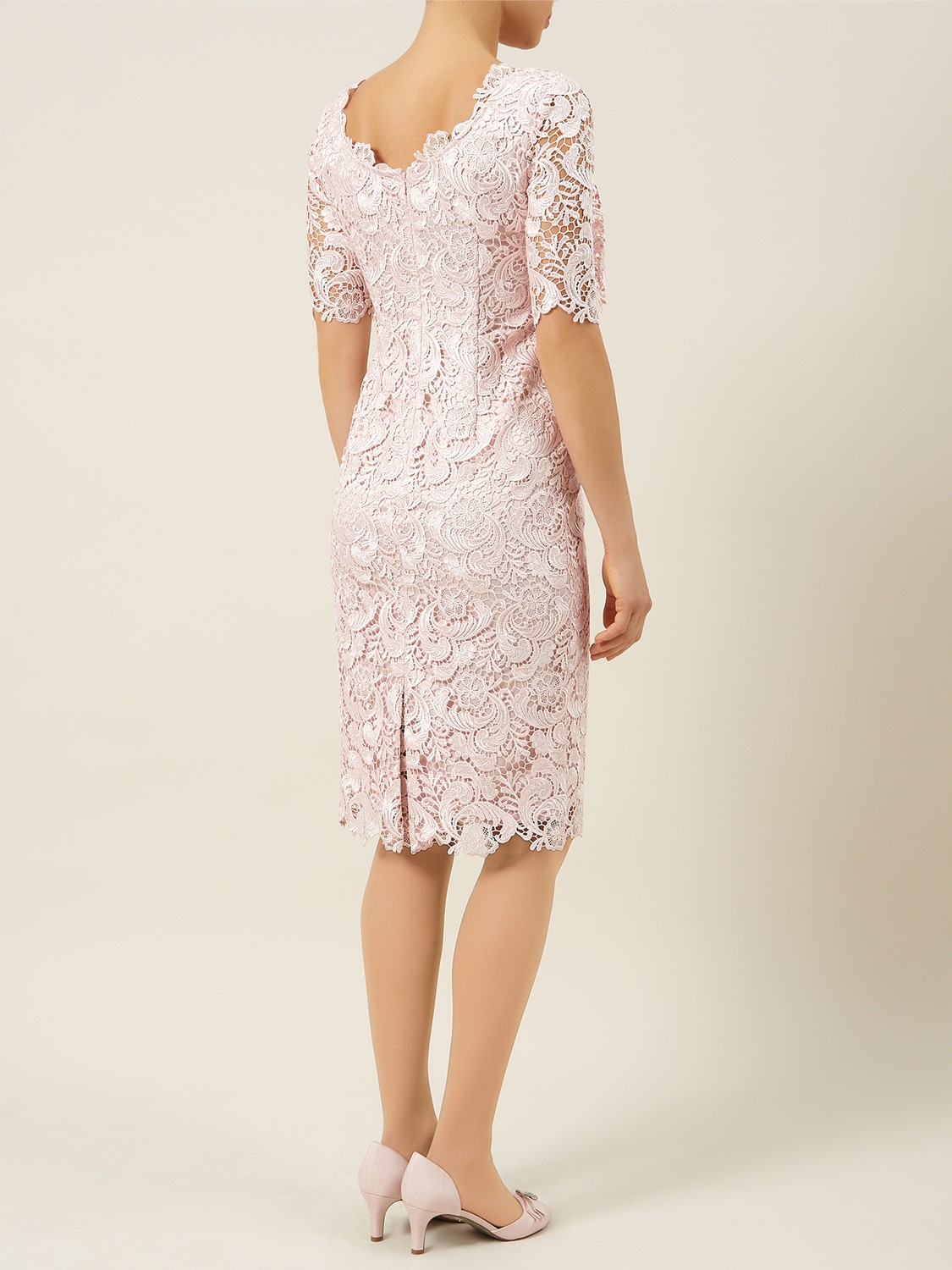 a0c4f4808305 Jacques Vert Luxury Lace Dress in Natural - Lyst