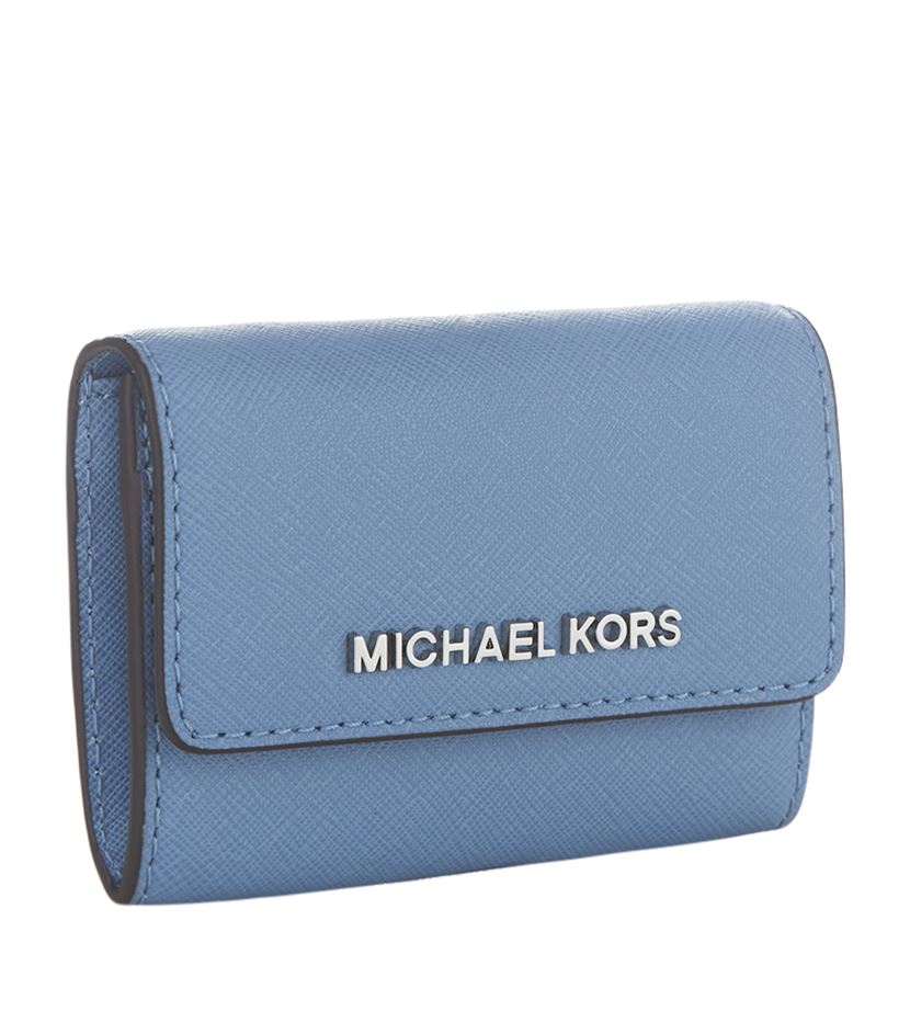 4a64e7a8430a9 MICHAEL Michael Kors Jet Set Travel Coin Purse in Blue - Lyst