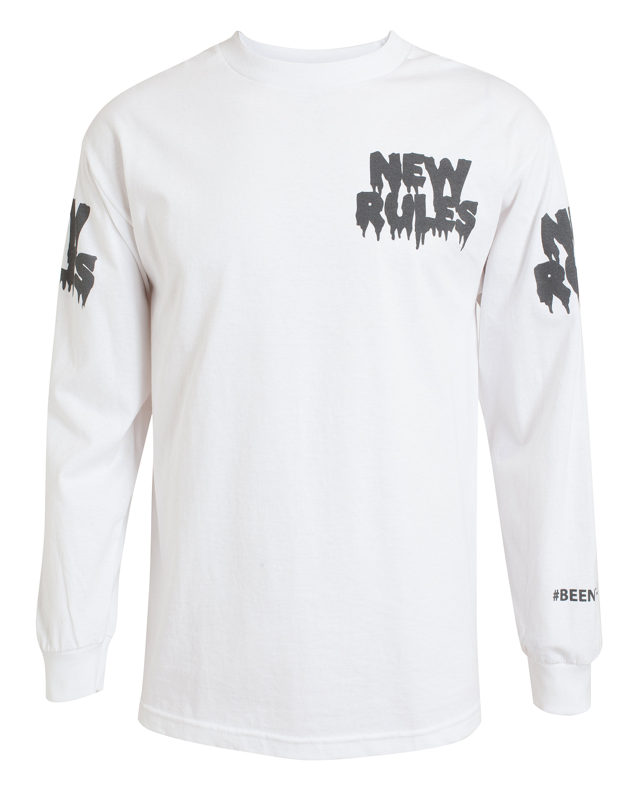 067565c425c Been trill New Rules Cotton Long Sleeve T-Shirt in White .