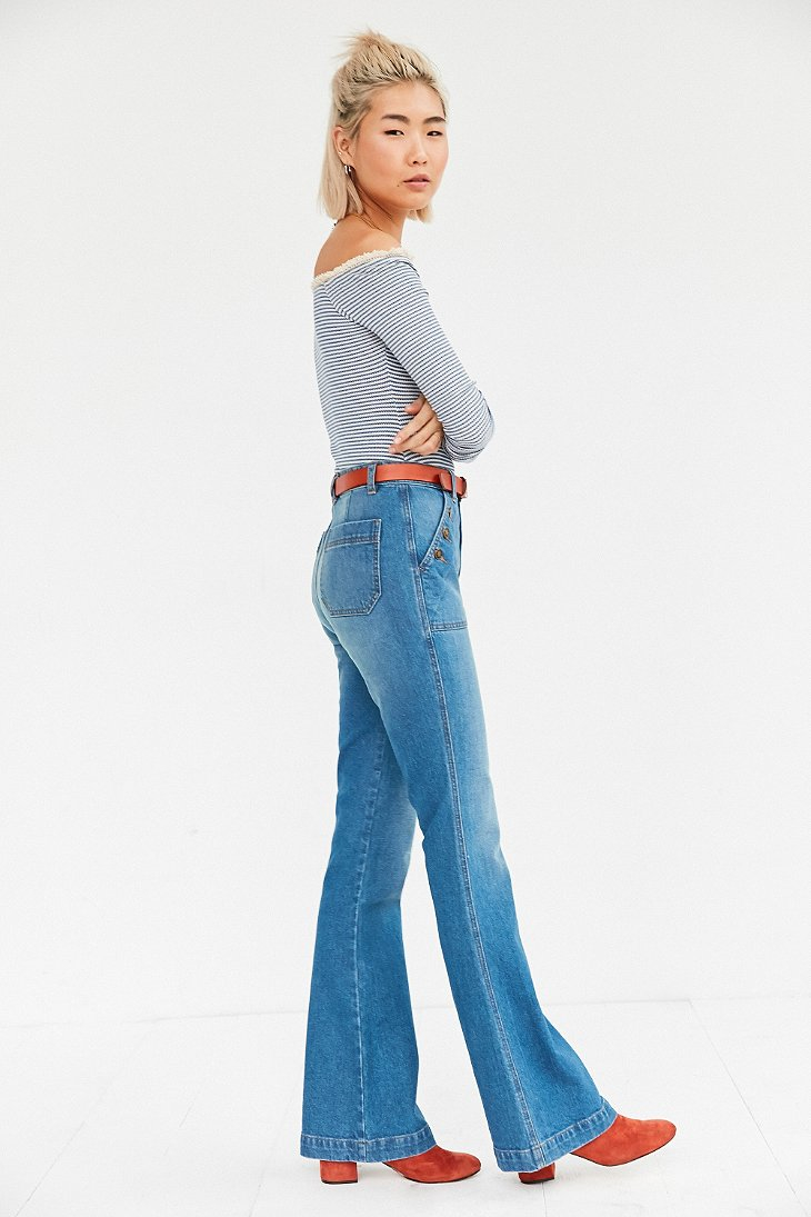 Bdg Sailor High-rise Flare Jean in Blue | Lyst