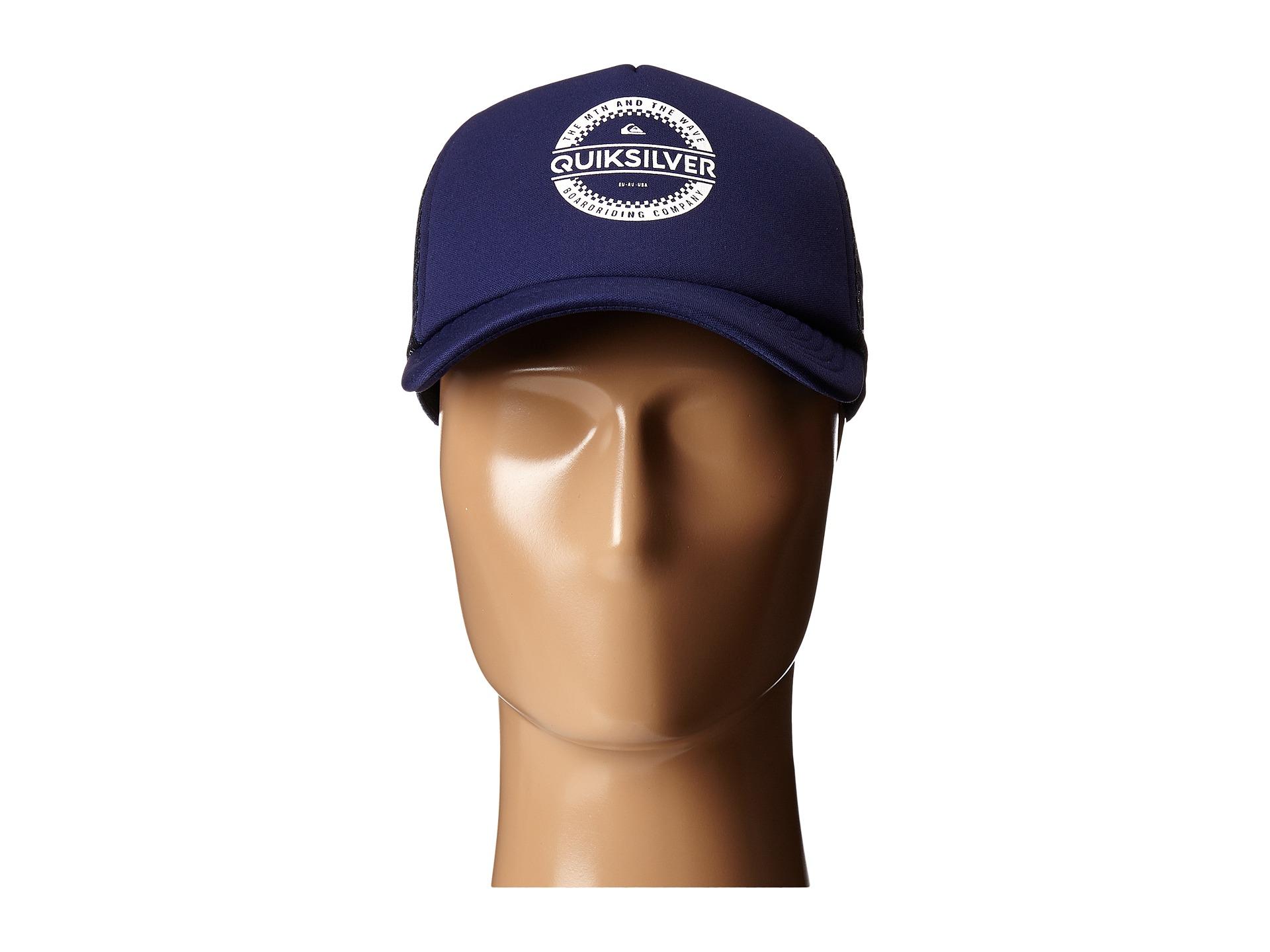 ece90073 Quiksilver Everyday 3 Trucker Hat in Blue for Men - Lyst