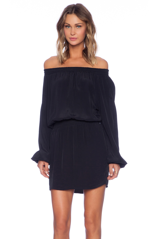 Mlm label Align Off The Shoulder Dress in Black  Lyst