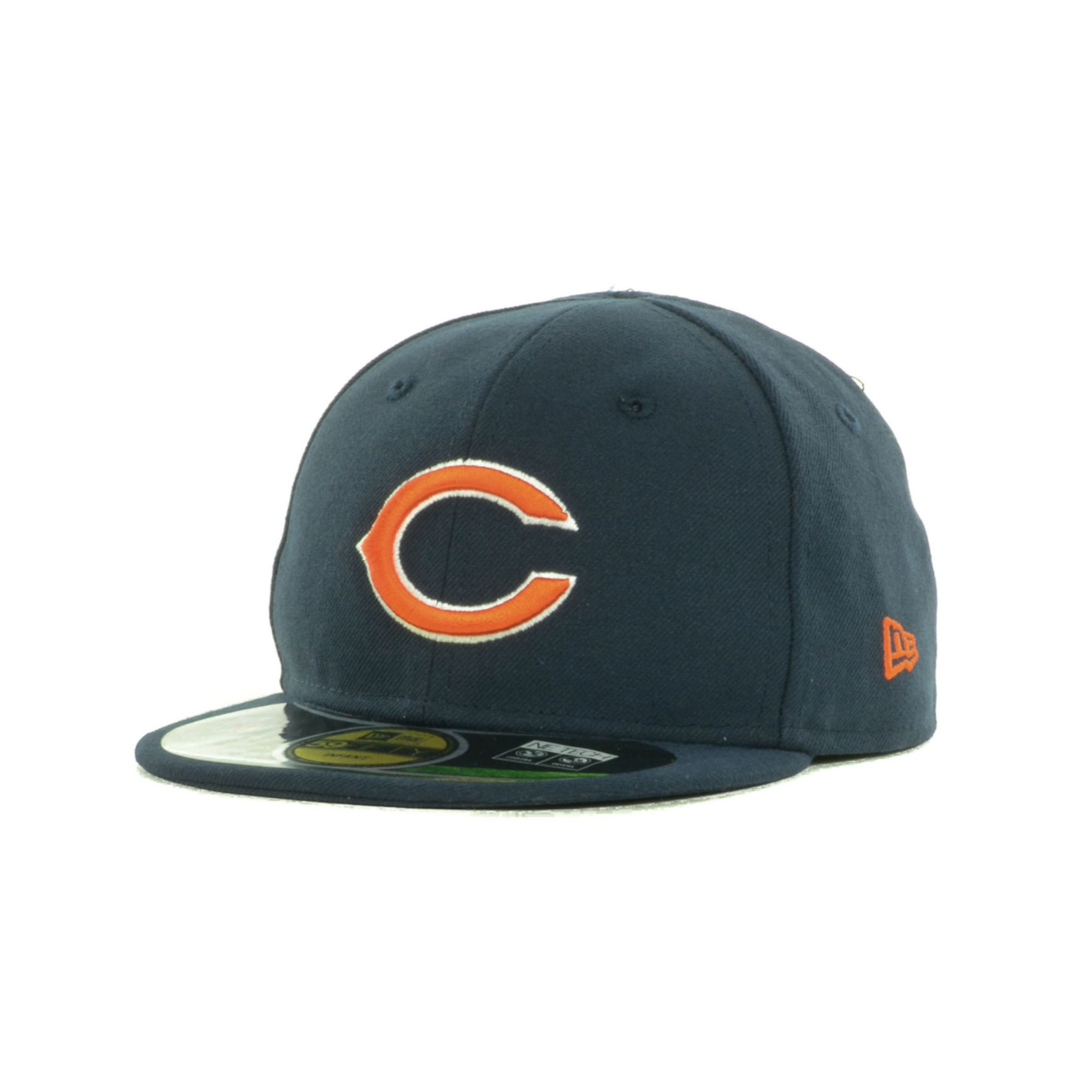Men S Chicago Bears New Era Navy Blue Lined Visor