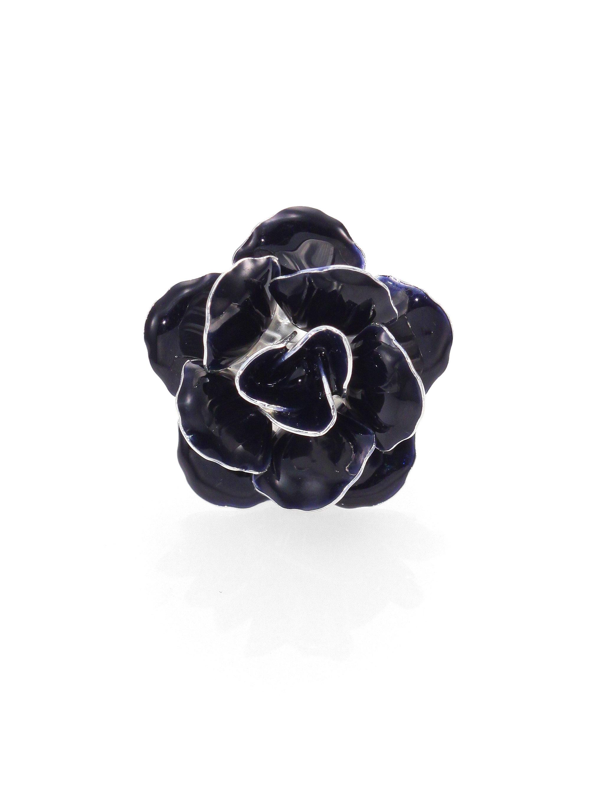 Hook Albert Lapel Flower Pin In Blue Lyst