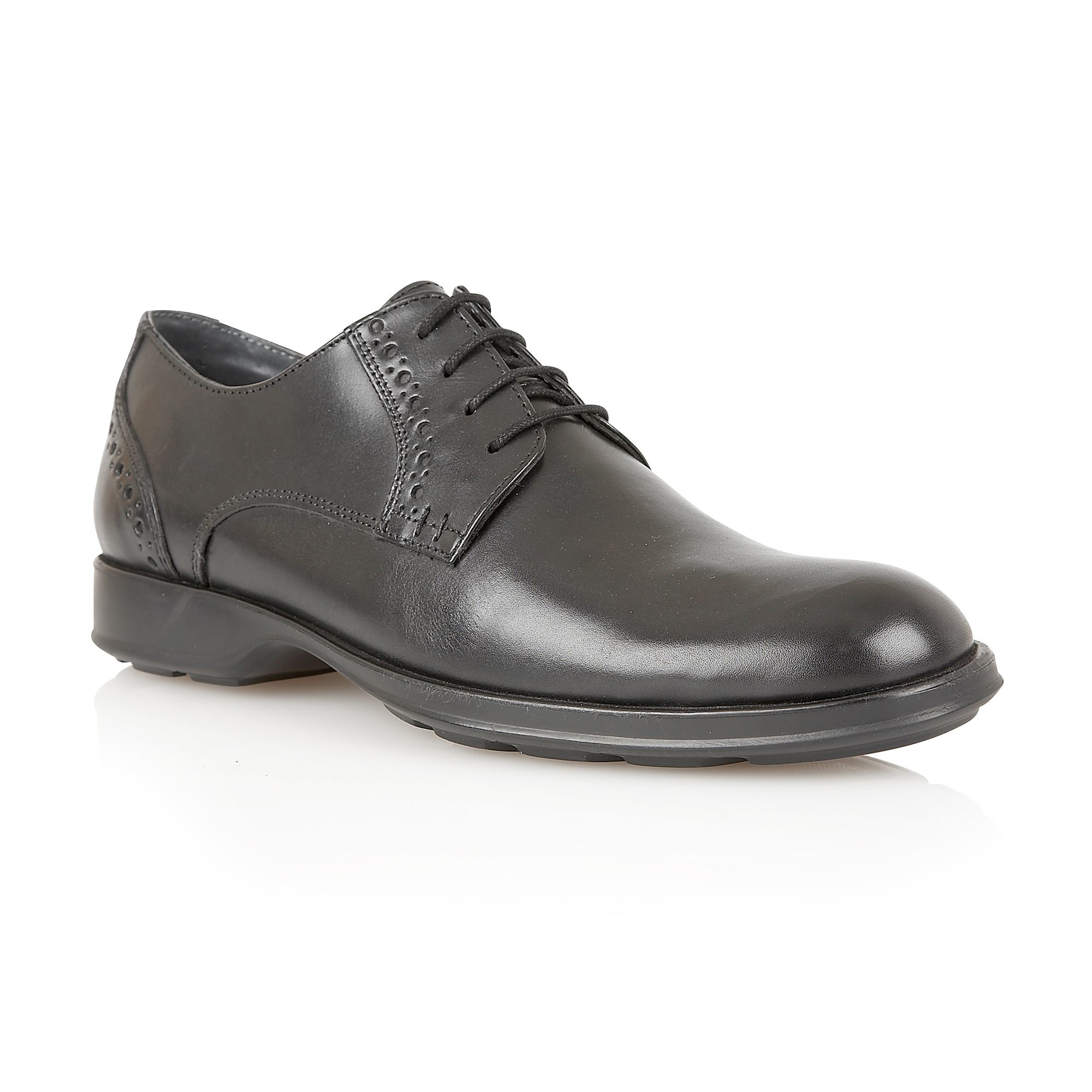 Mens Rockport Shoes Matt Black