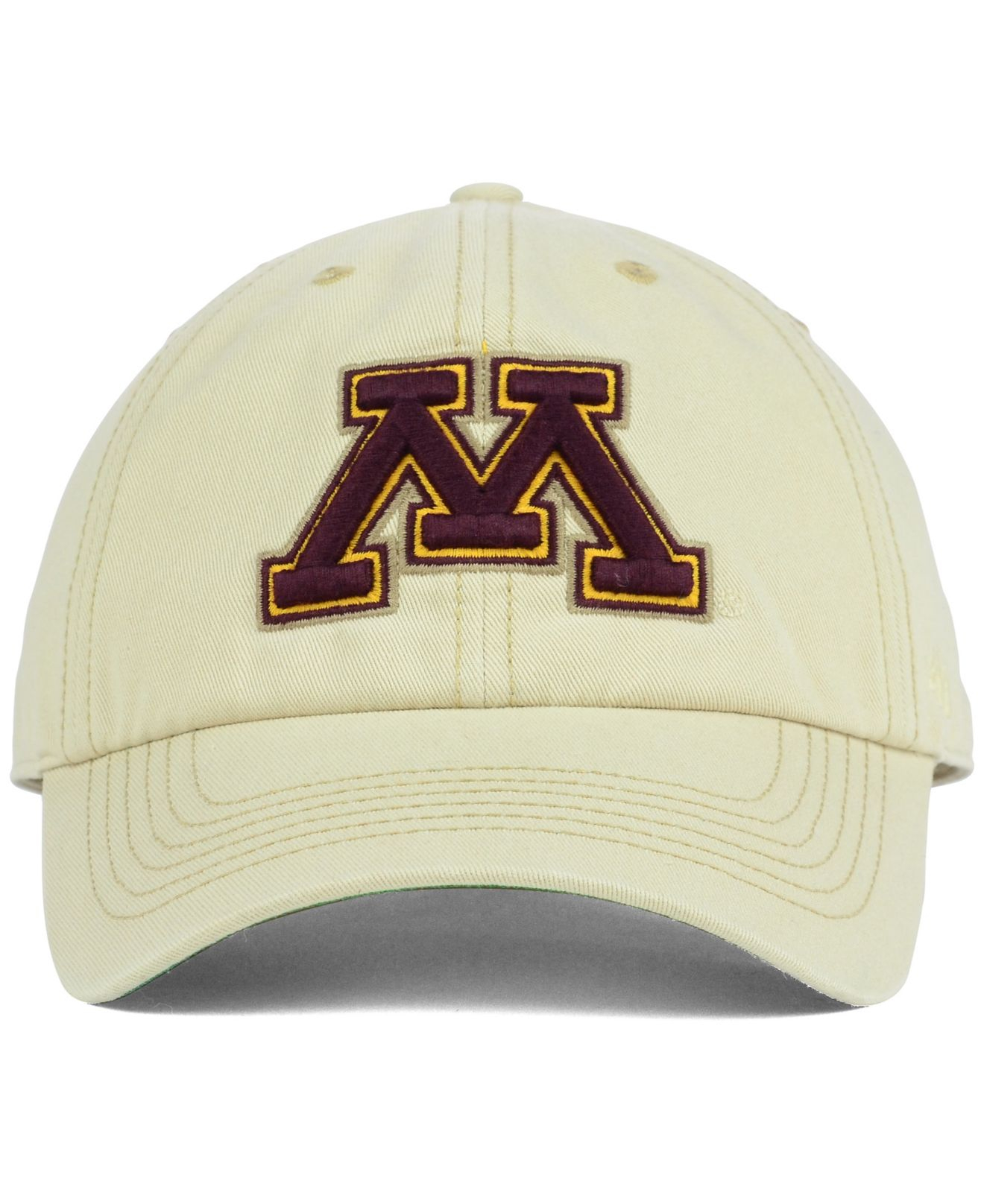 competitive price 123d2 0e8b3 47 Brand Minnesota Golden Gophers Franchise Cap in Natural for Men ...