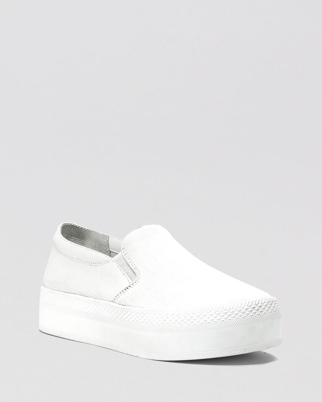 75df38a7b06 Lyst - MICHAEL Michael Kors Flat Platform Slip On Sneakers Boerum in ...
